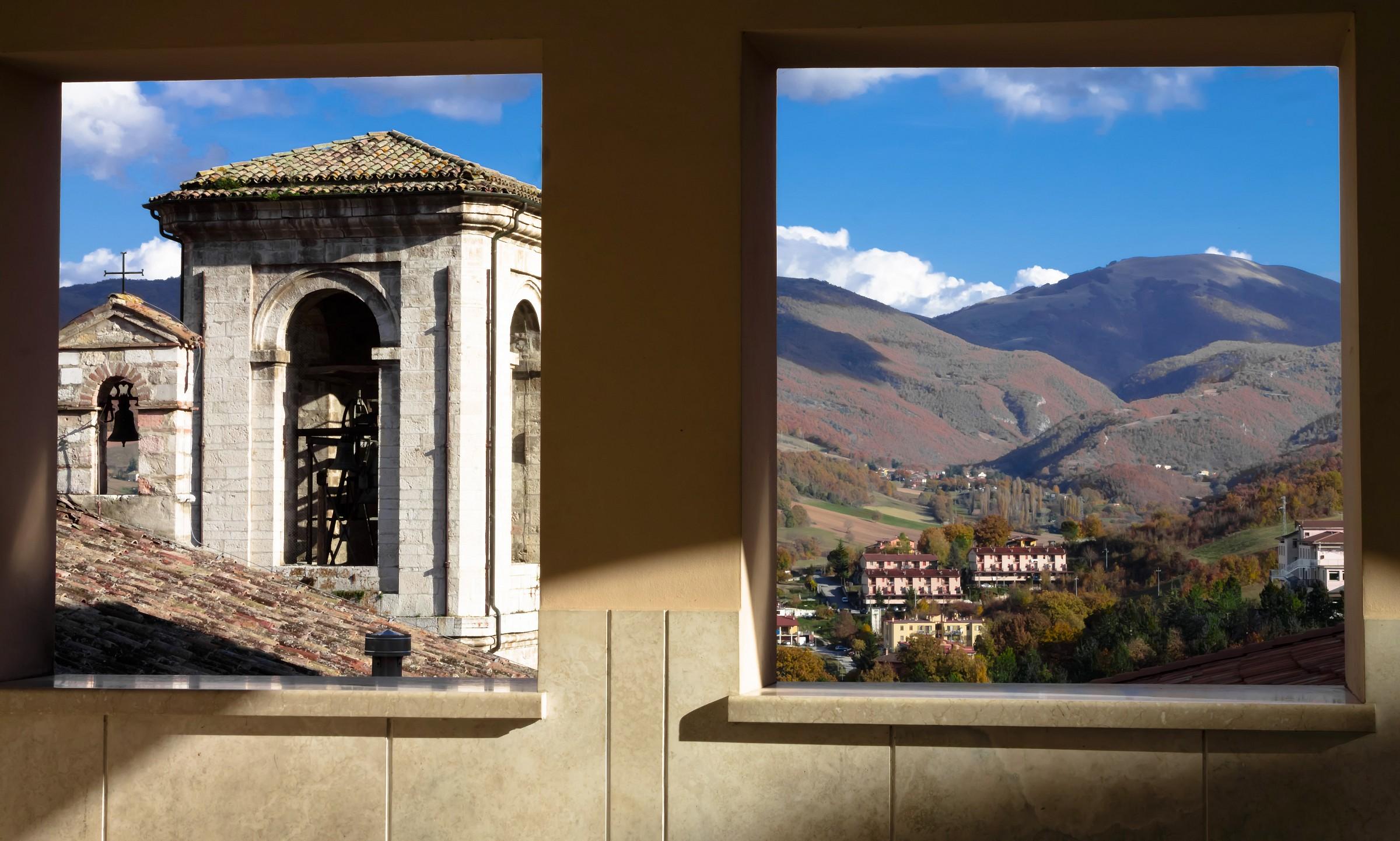 Windows of Cascia...