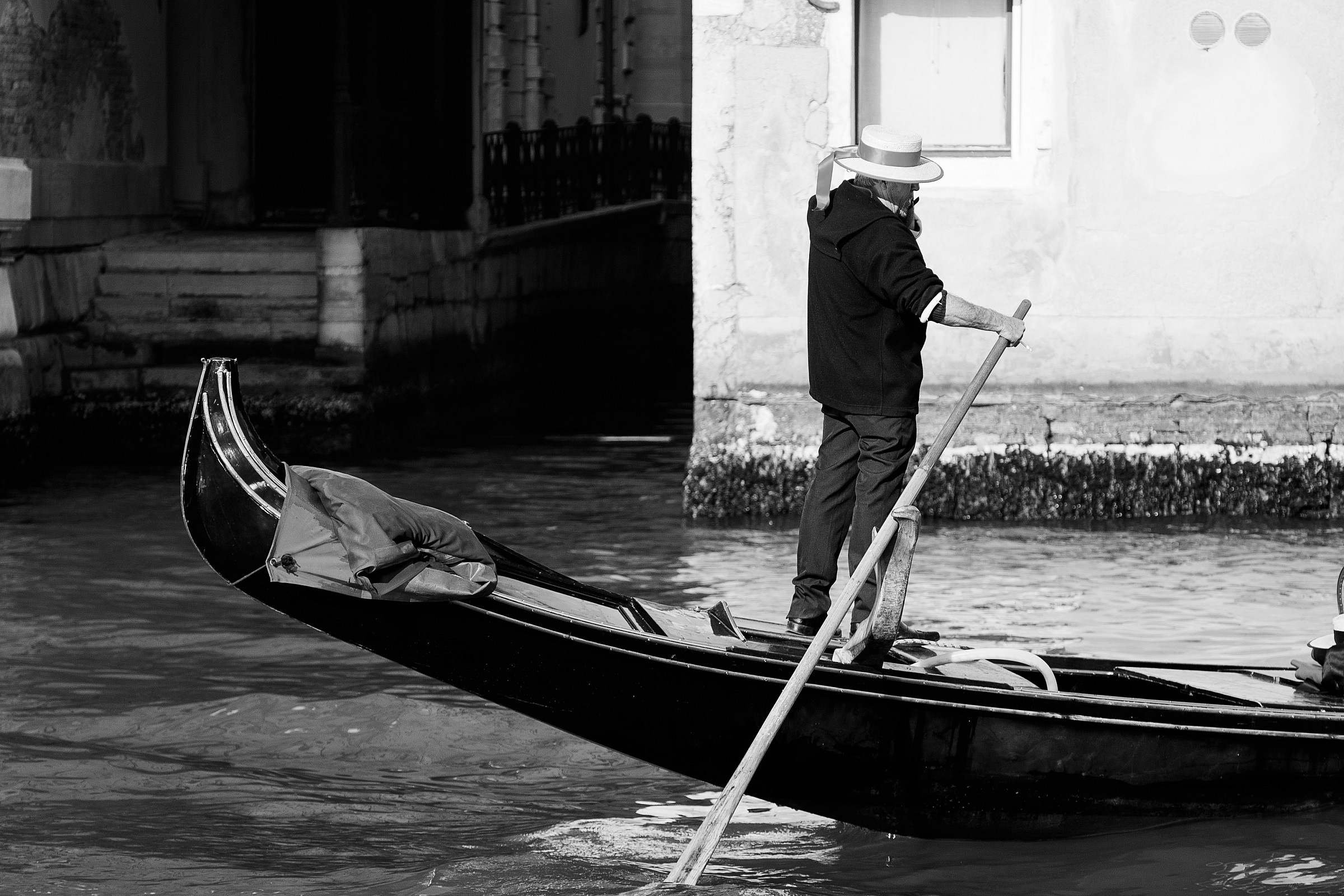 Lonely Gondolier...
