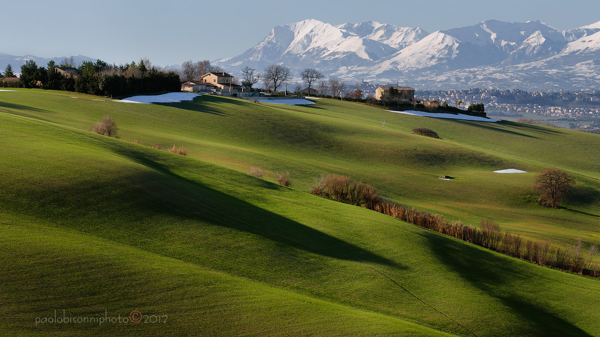 Countryside and Mountains...