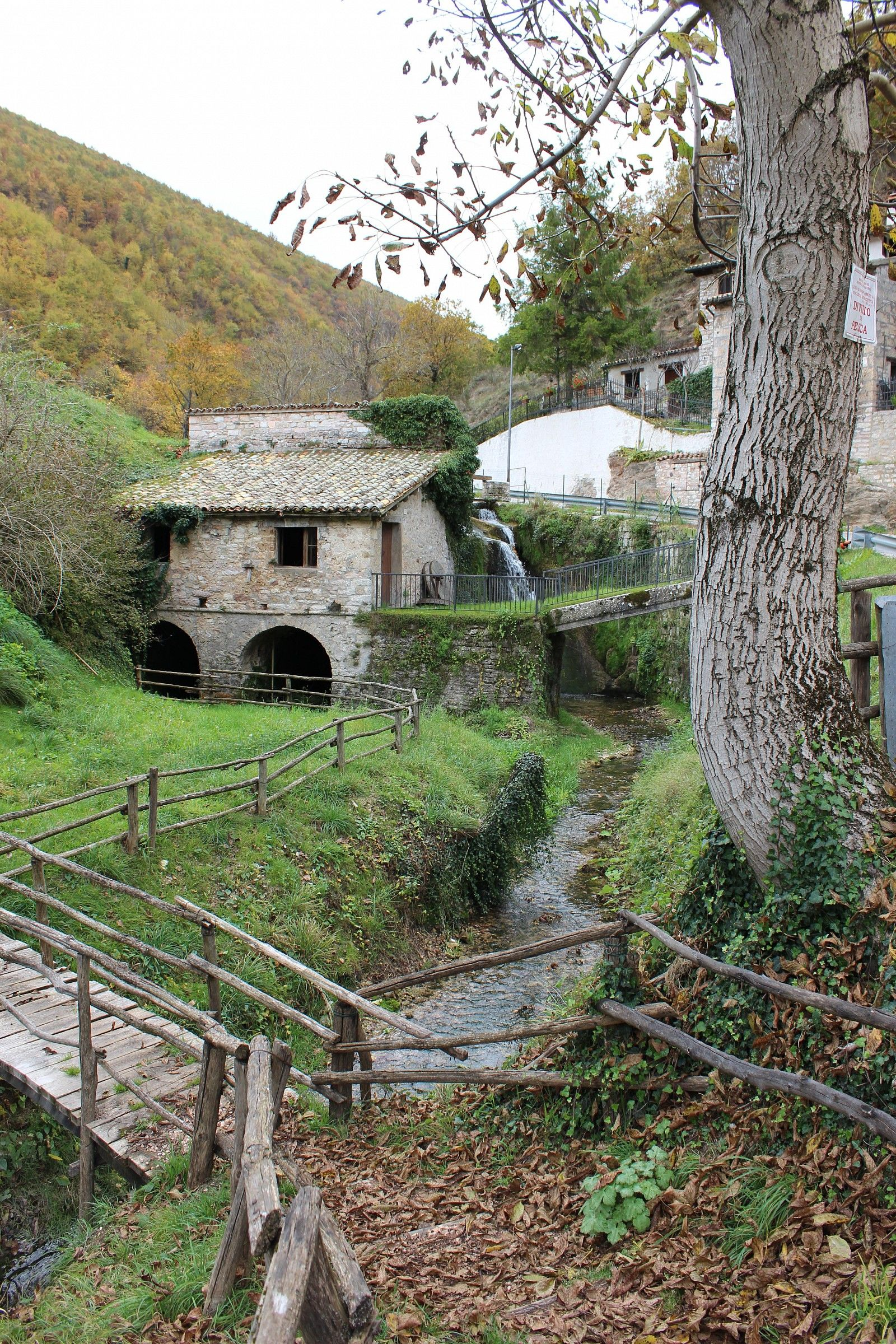 The small mill...