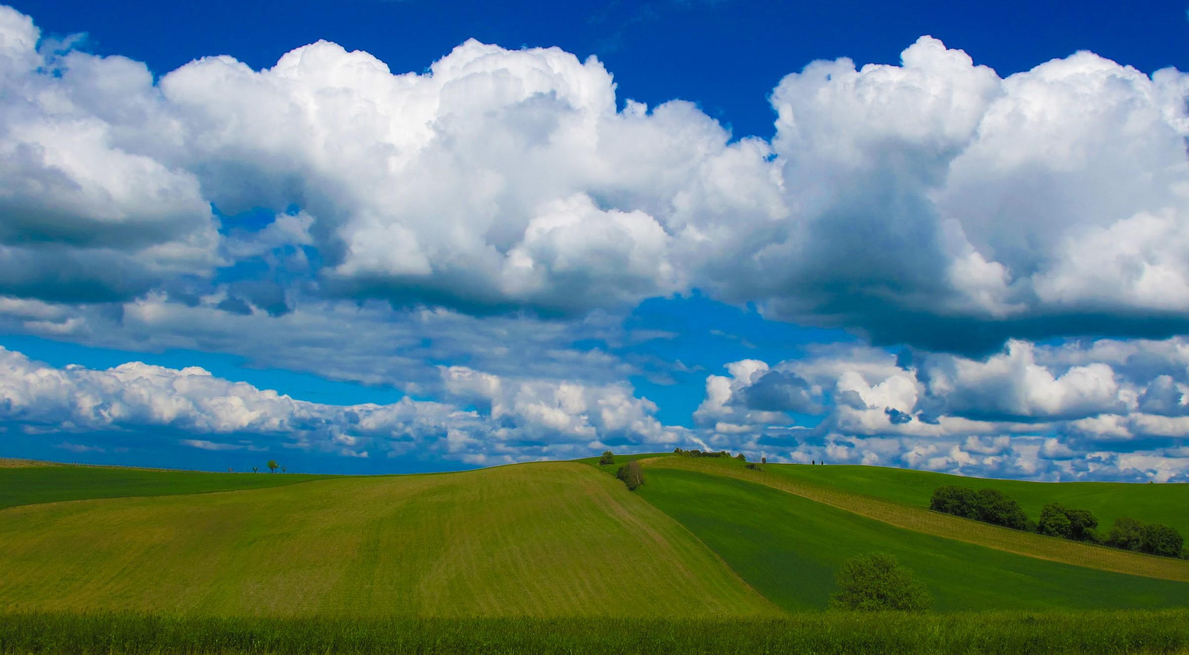 Nuvole toscane...