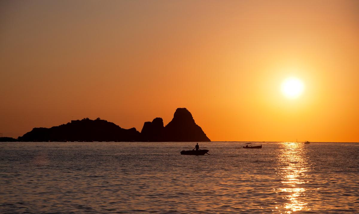Stacks of Aci Trezza - Fishermen at dawn...