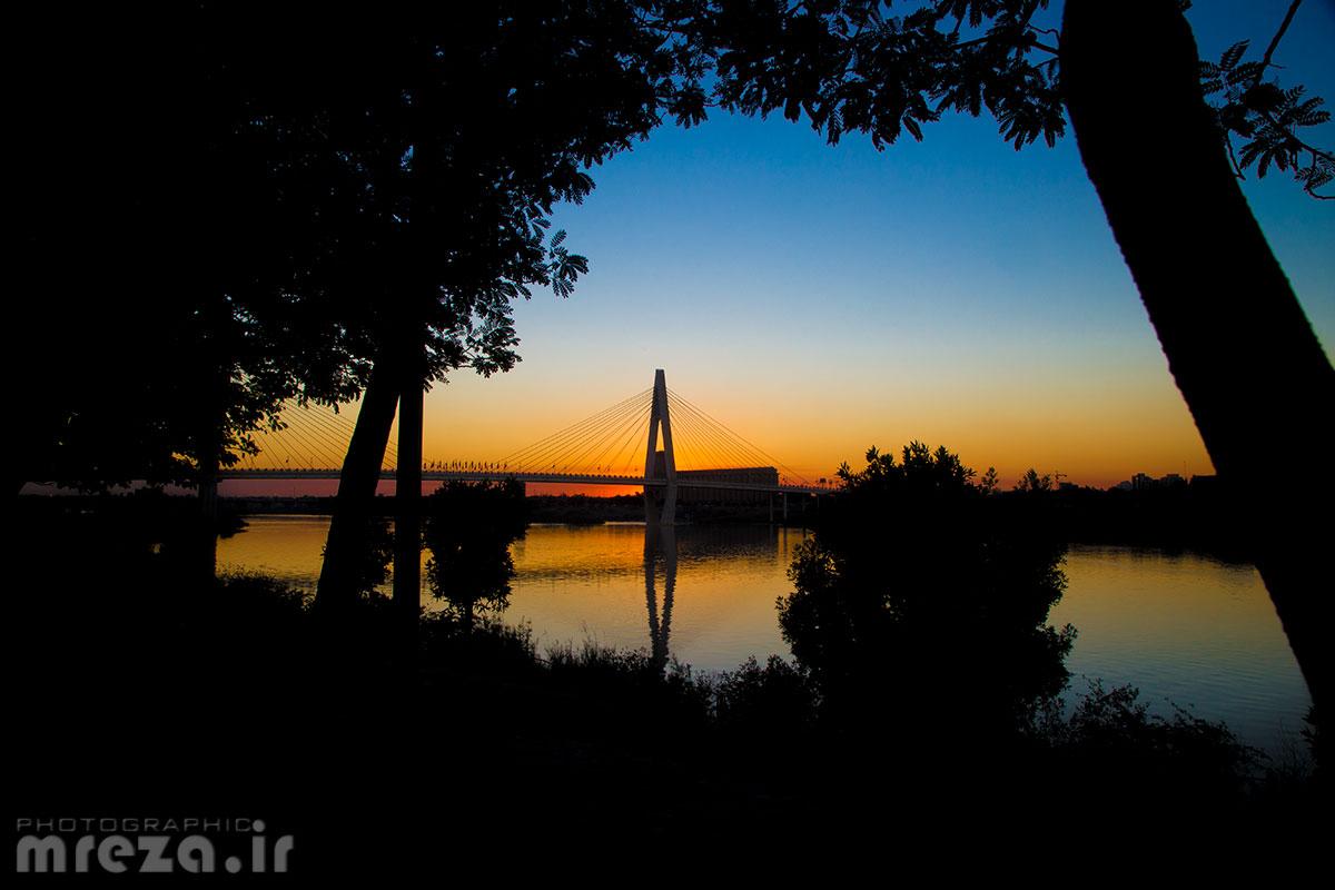 Sunset in Karoon...