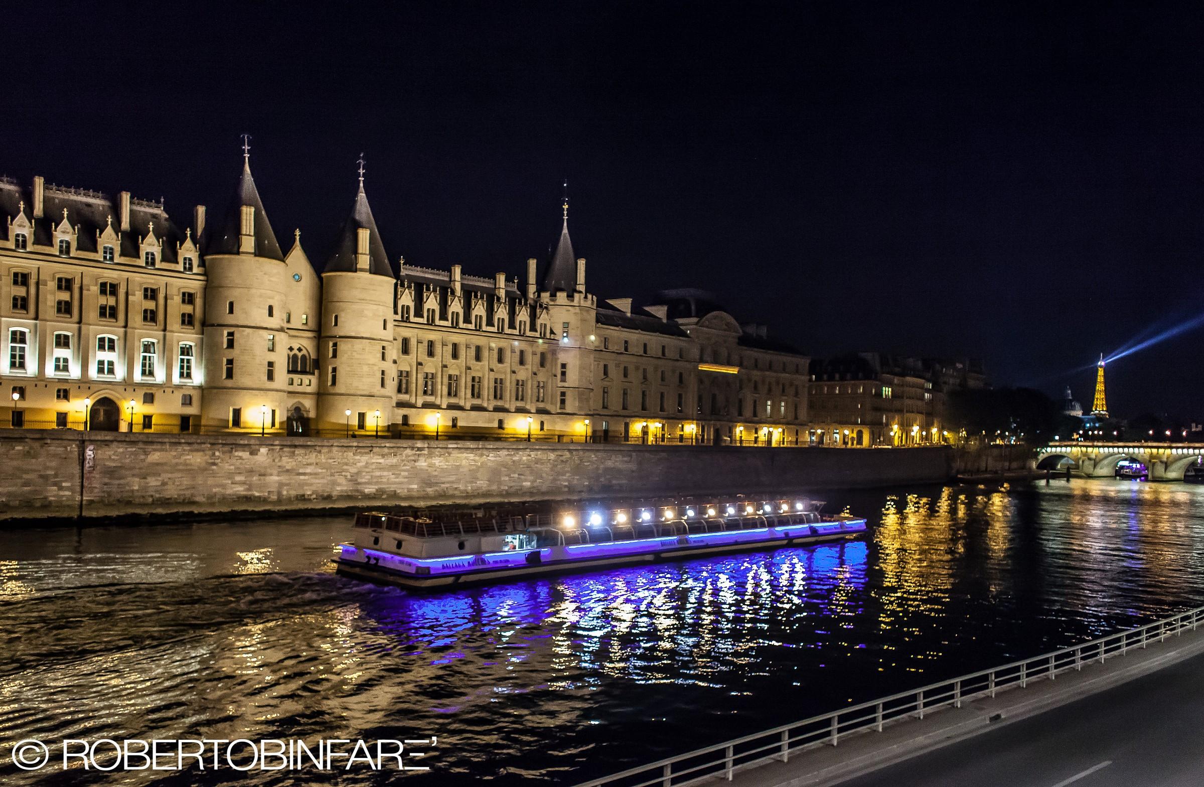 Paris, the Seine at Night...