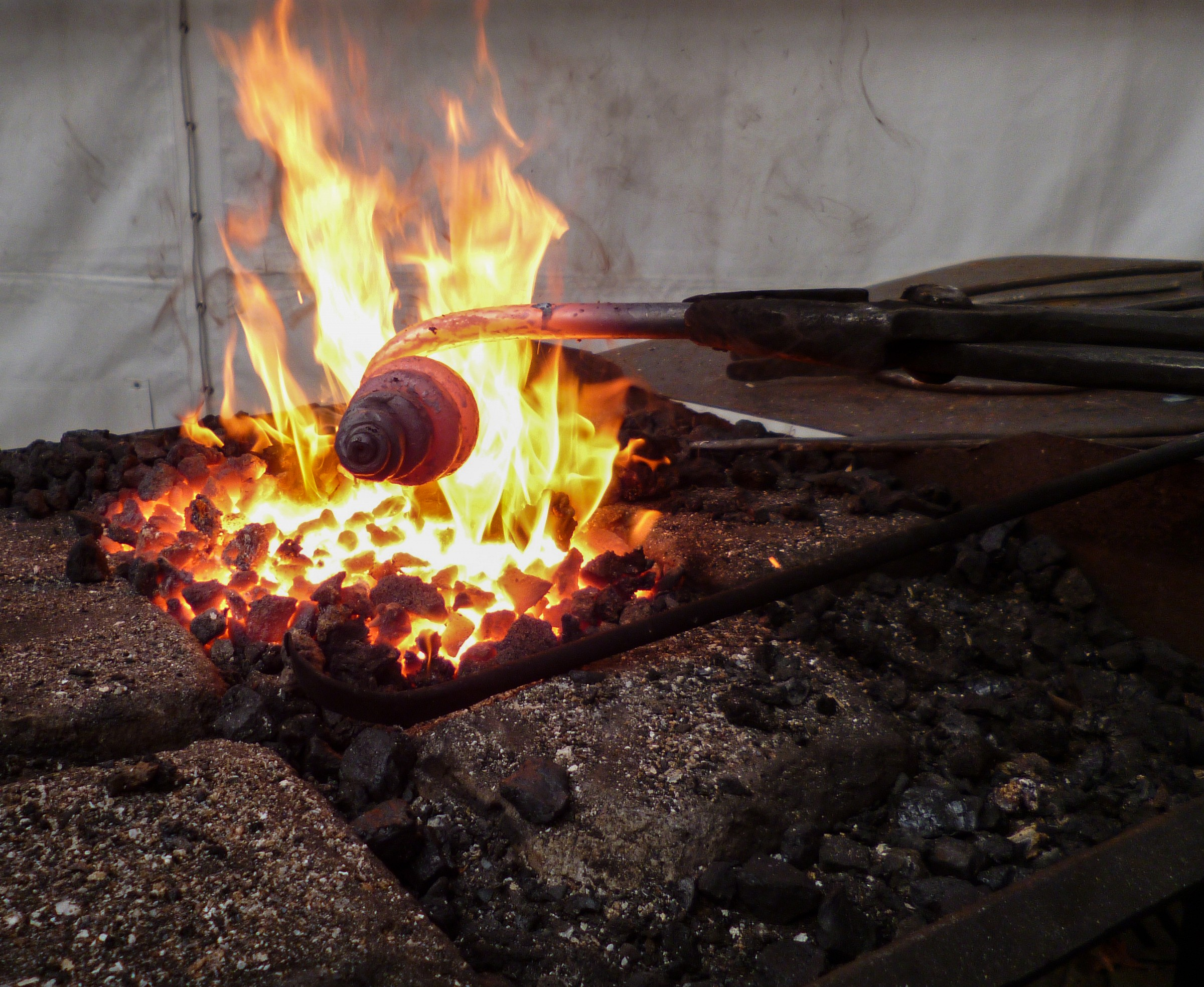 Spiral of fire...
