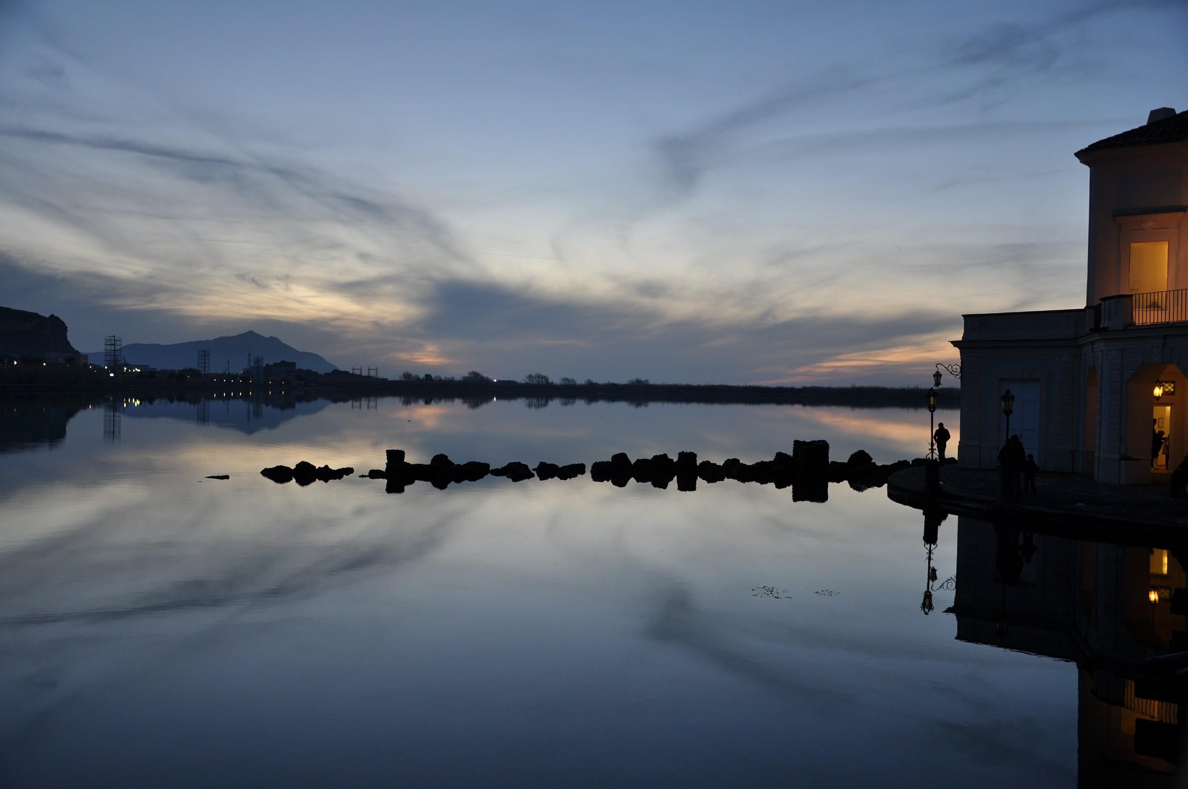 Lake Fusaro...