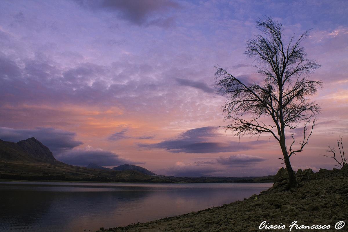 Sunset on Lake Poma...
