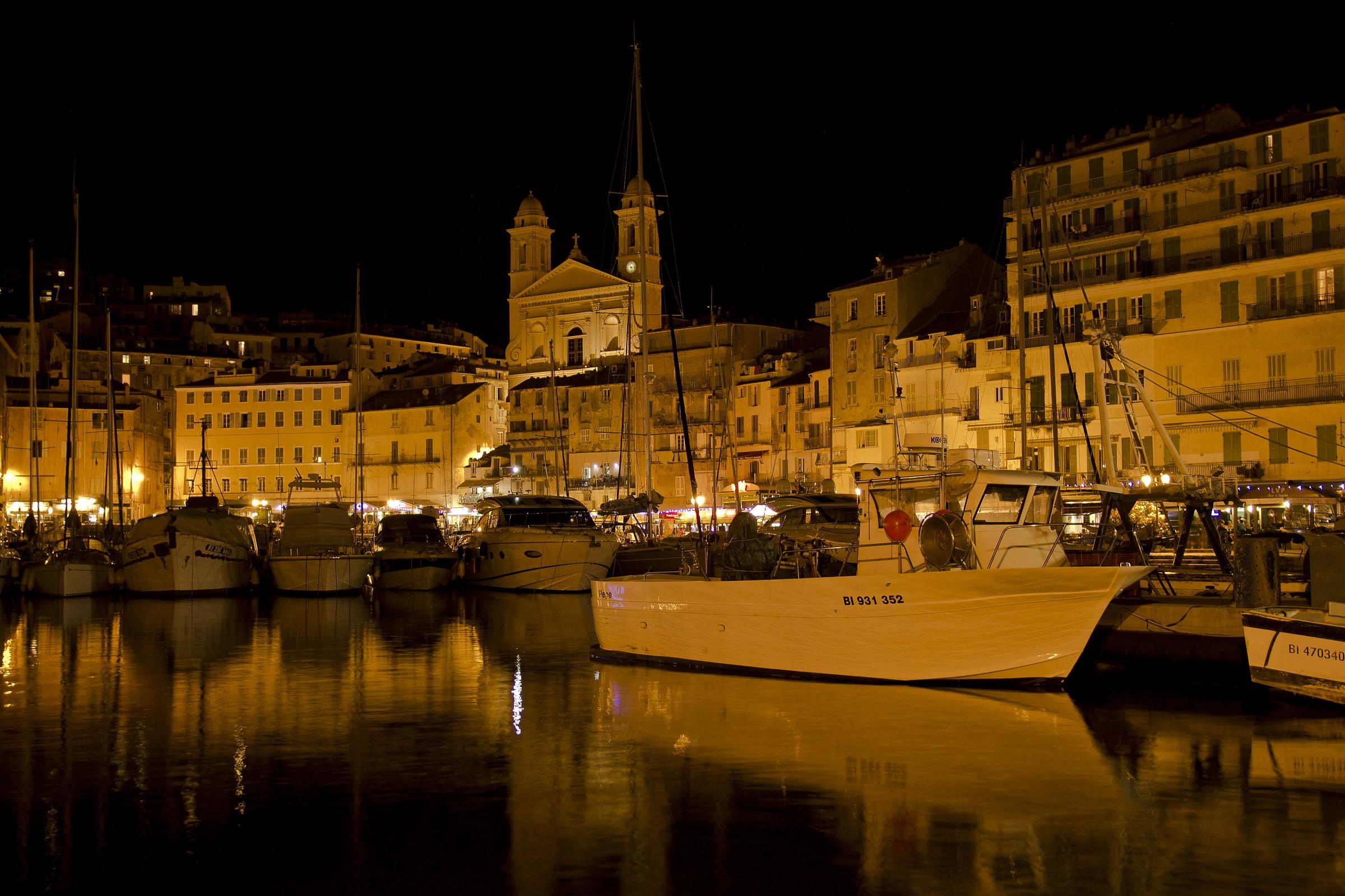 Bastia (Corsica) Old Port...