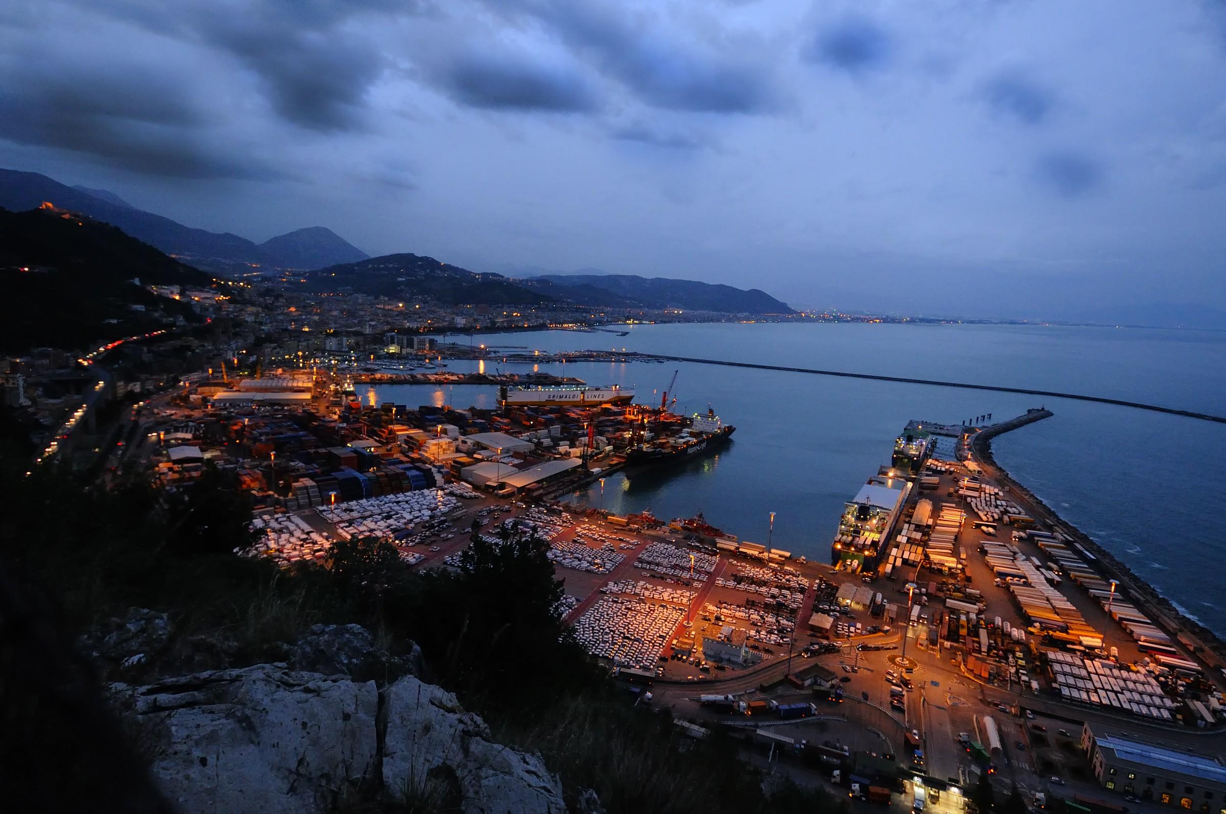 Porto di Salerno...