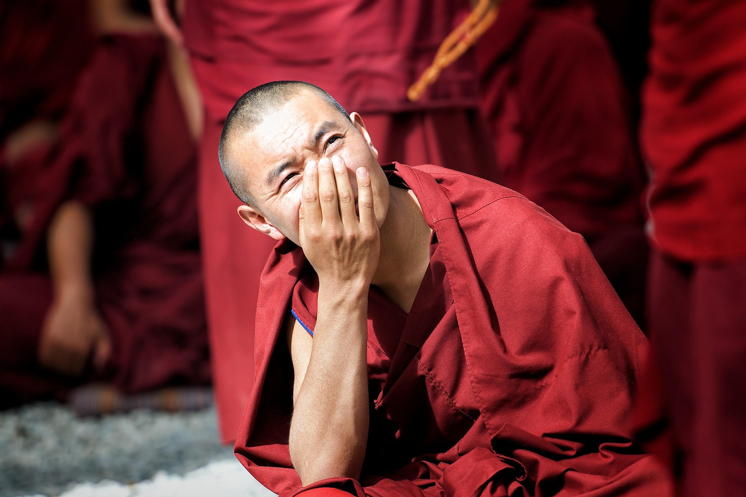 Giovane monk....