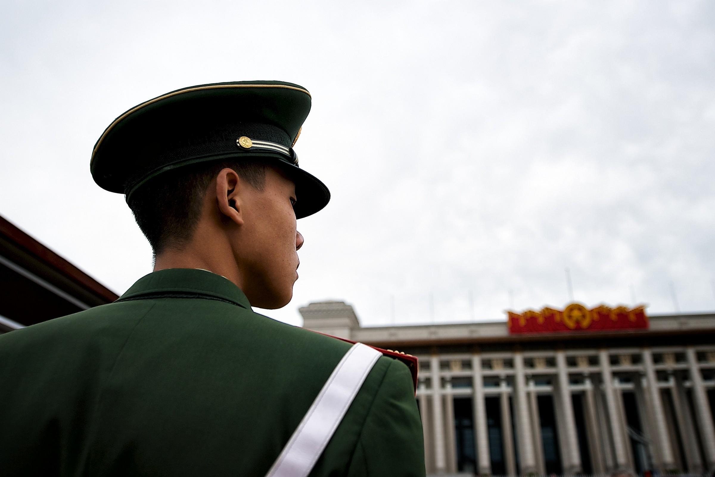 Militare cinese....