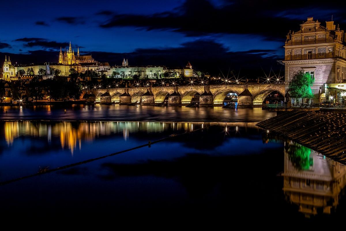 Magical Prague at sunset...