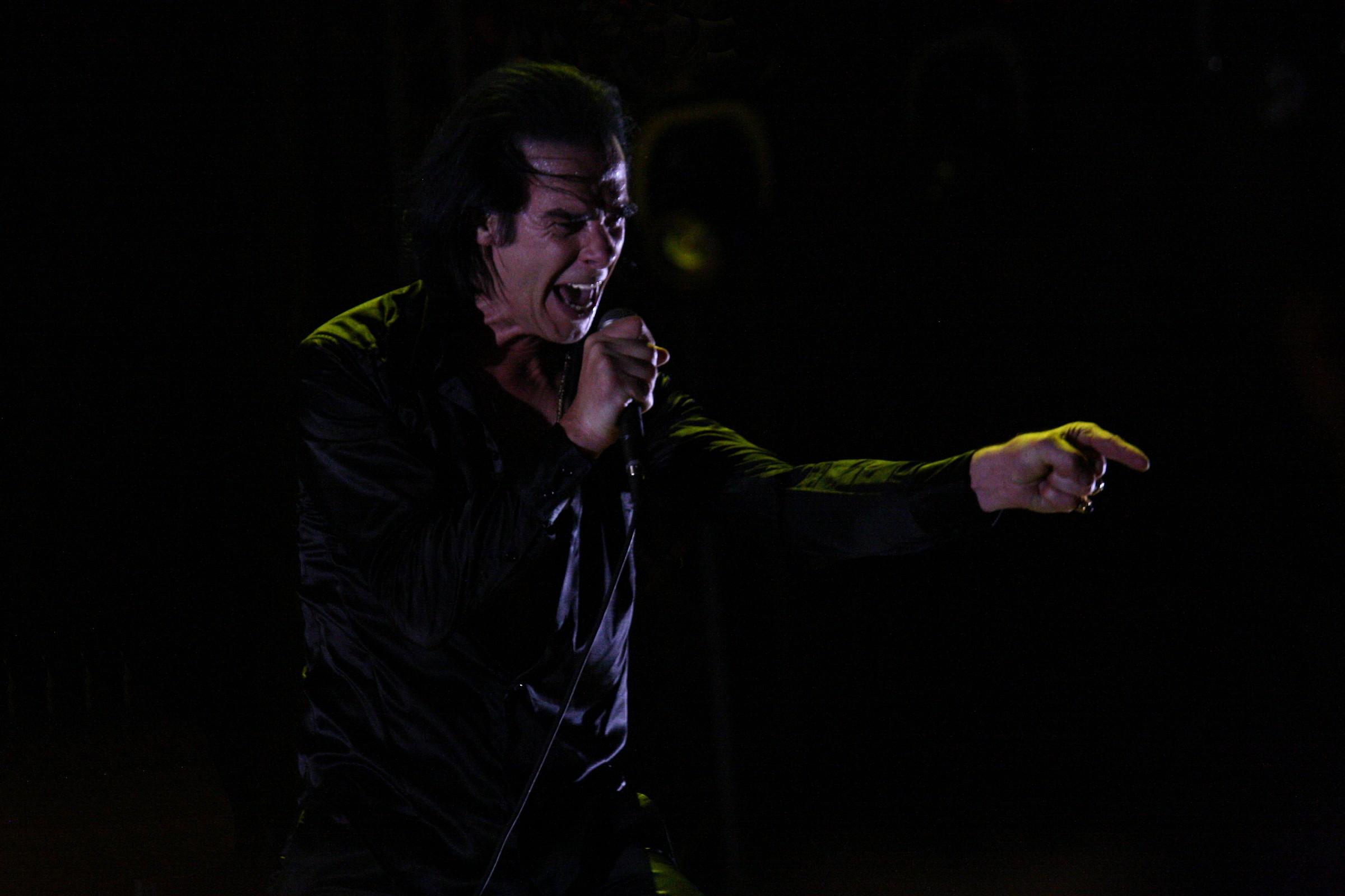 Nick Cave, Lucca 2013 # 2 alt-version...