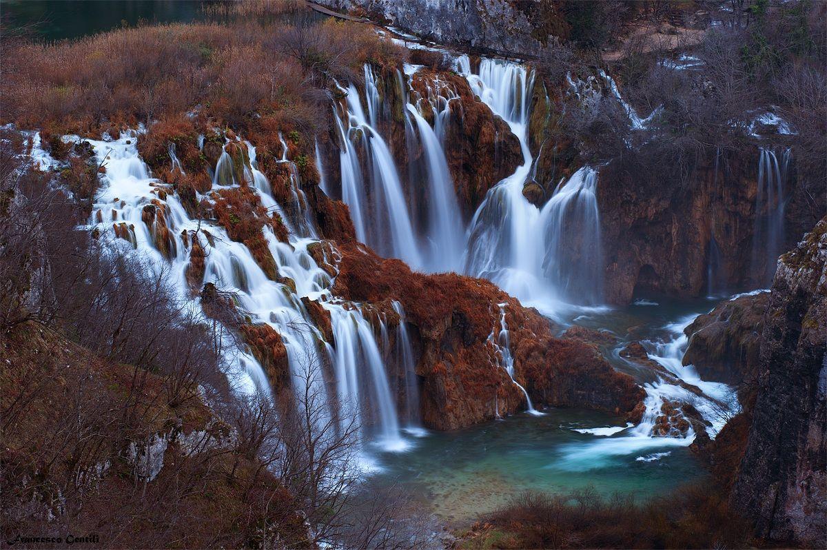 The falls...