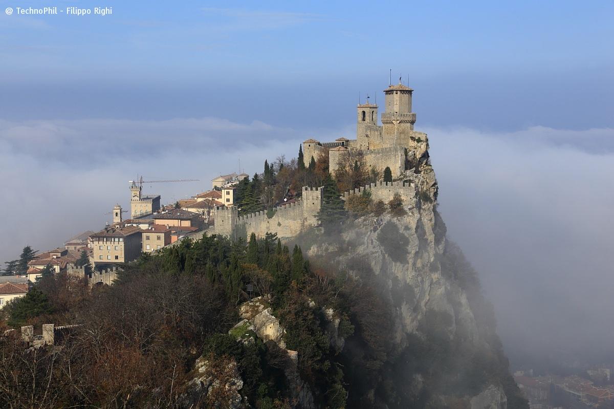 Republic of San Marino rising up from heaven!...