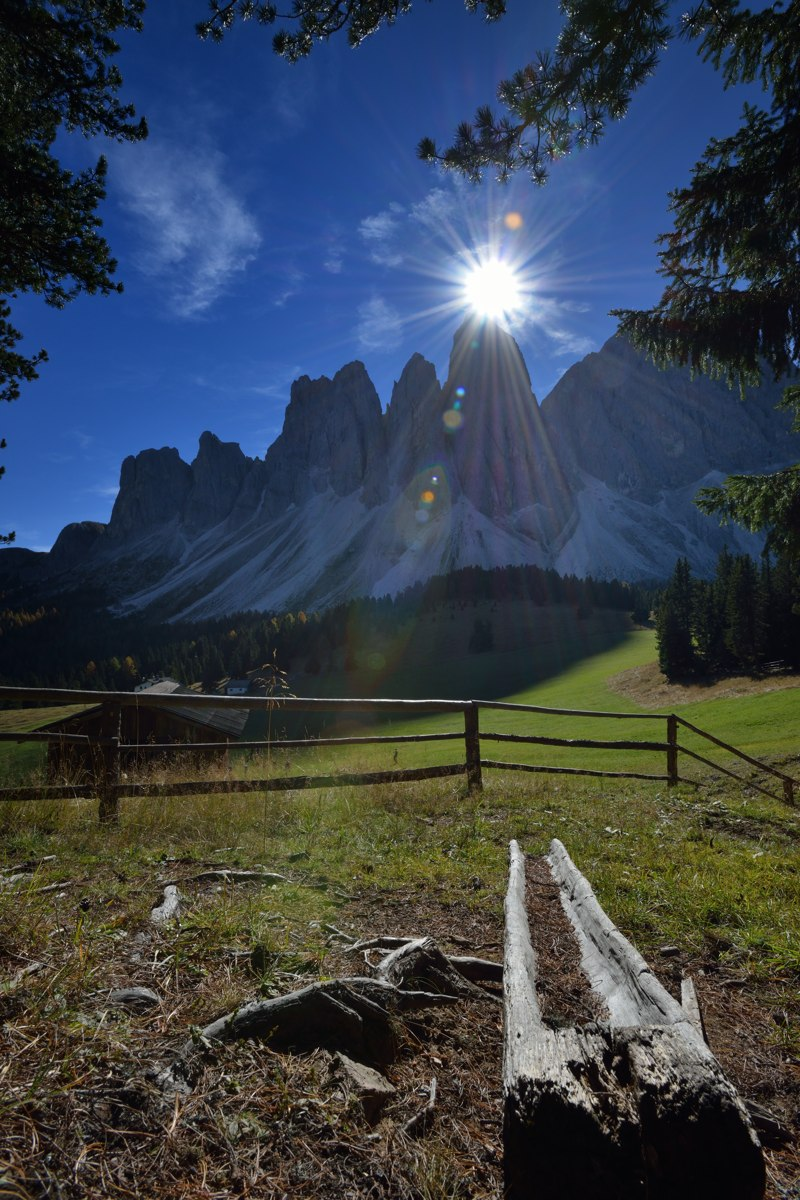 The Odle, Dolomites...