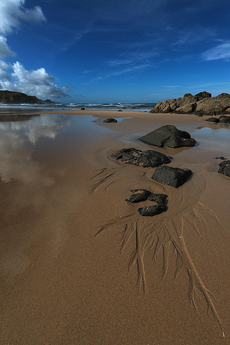 Reflections Amado Beach (Portugal)...