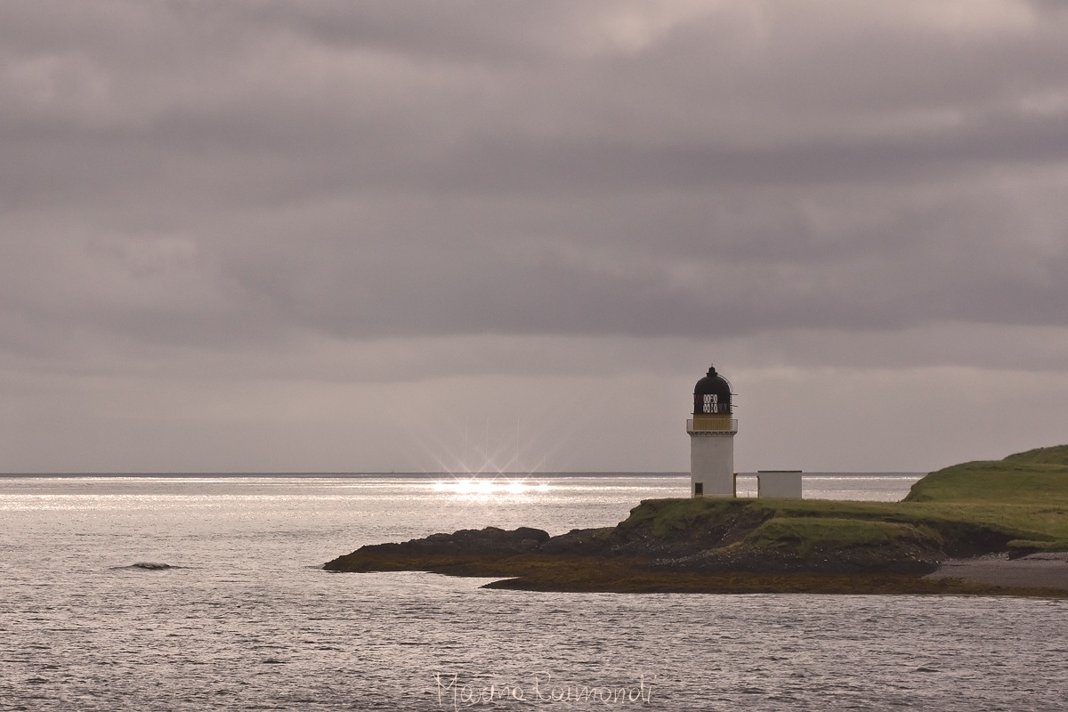 Outer Hebrides Lewis - Port of Stornoway...