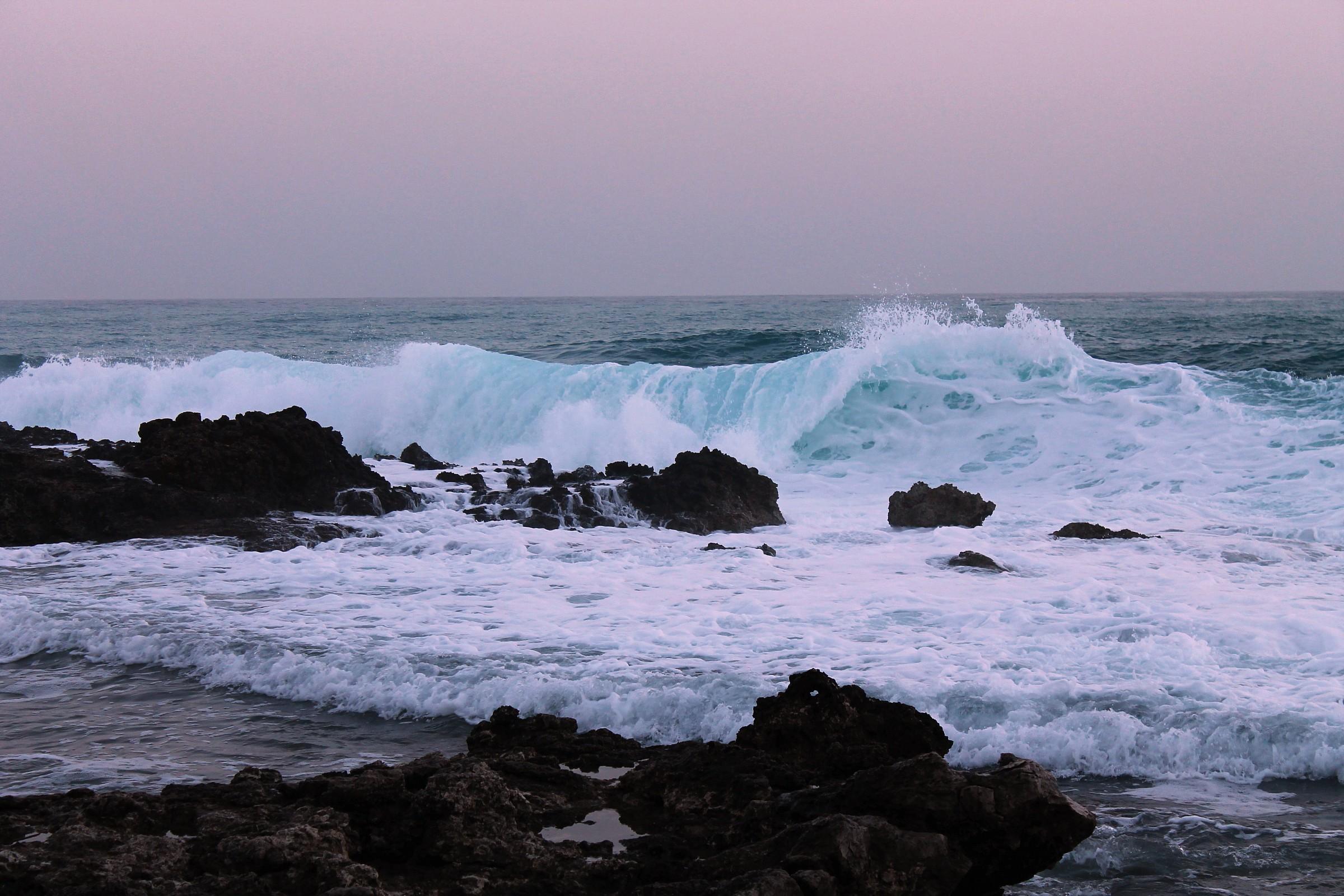 Sinuous wave...