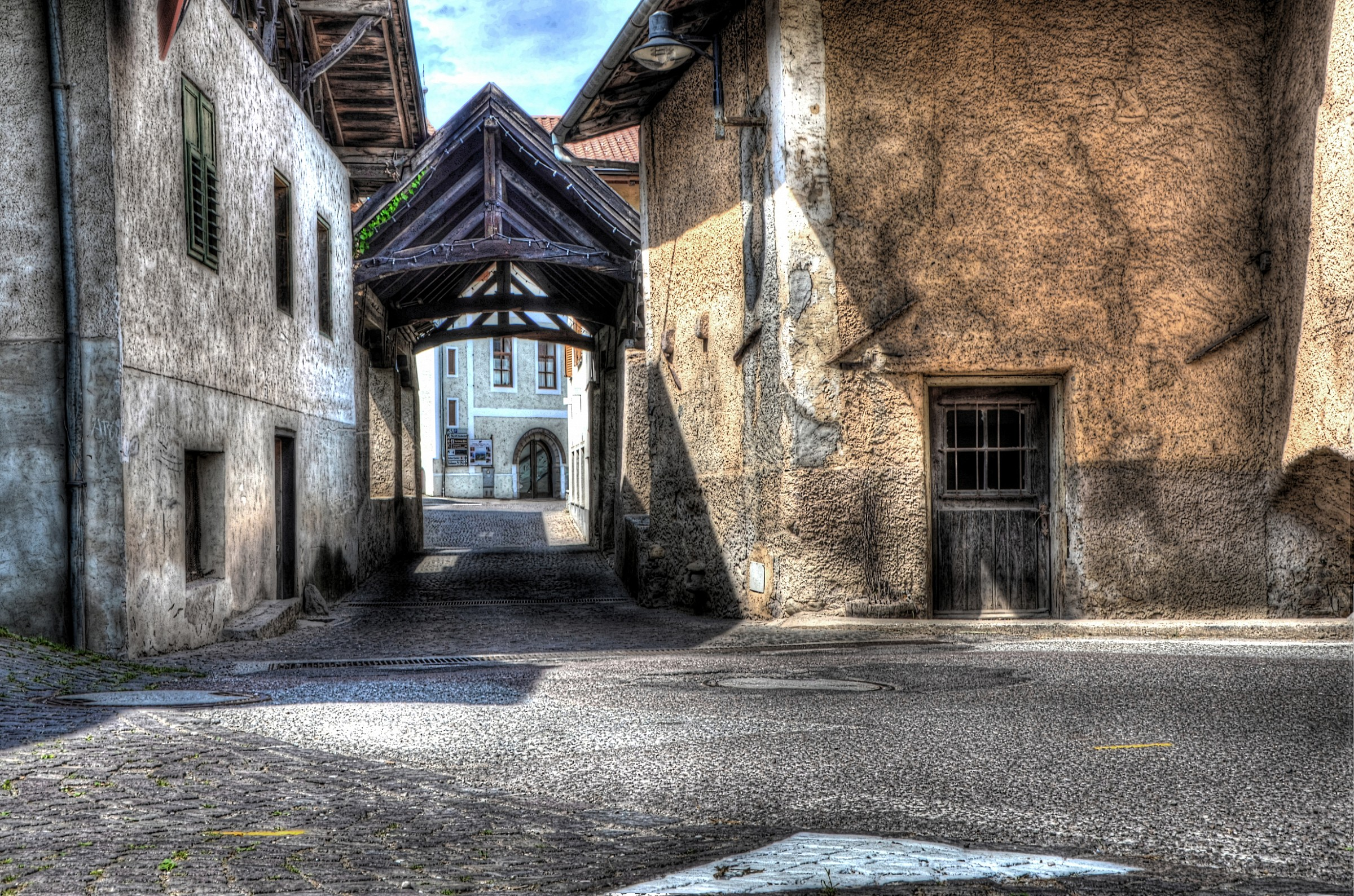 the old village...