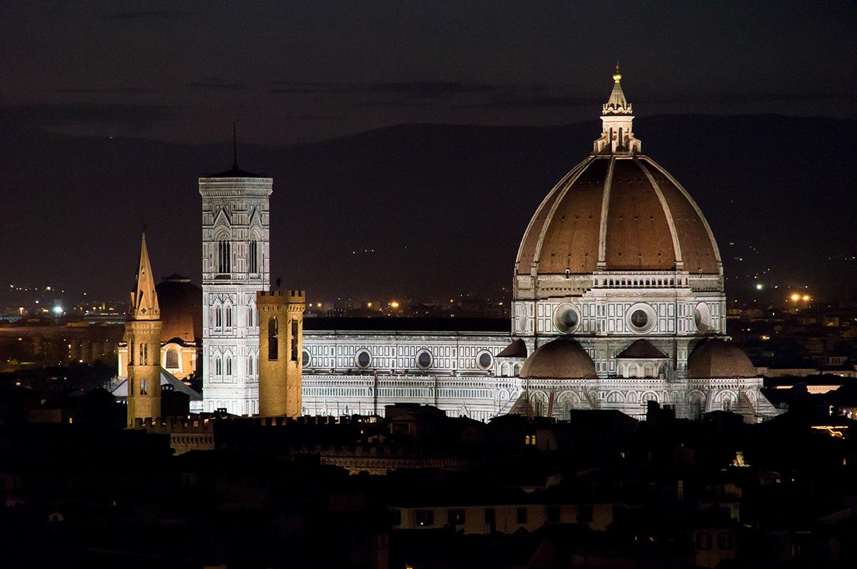 Santa Maria del Fiore by Night...