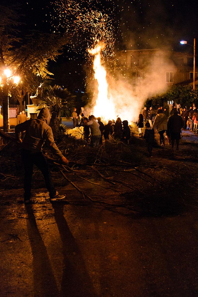 bonfire...