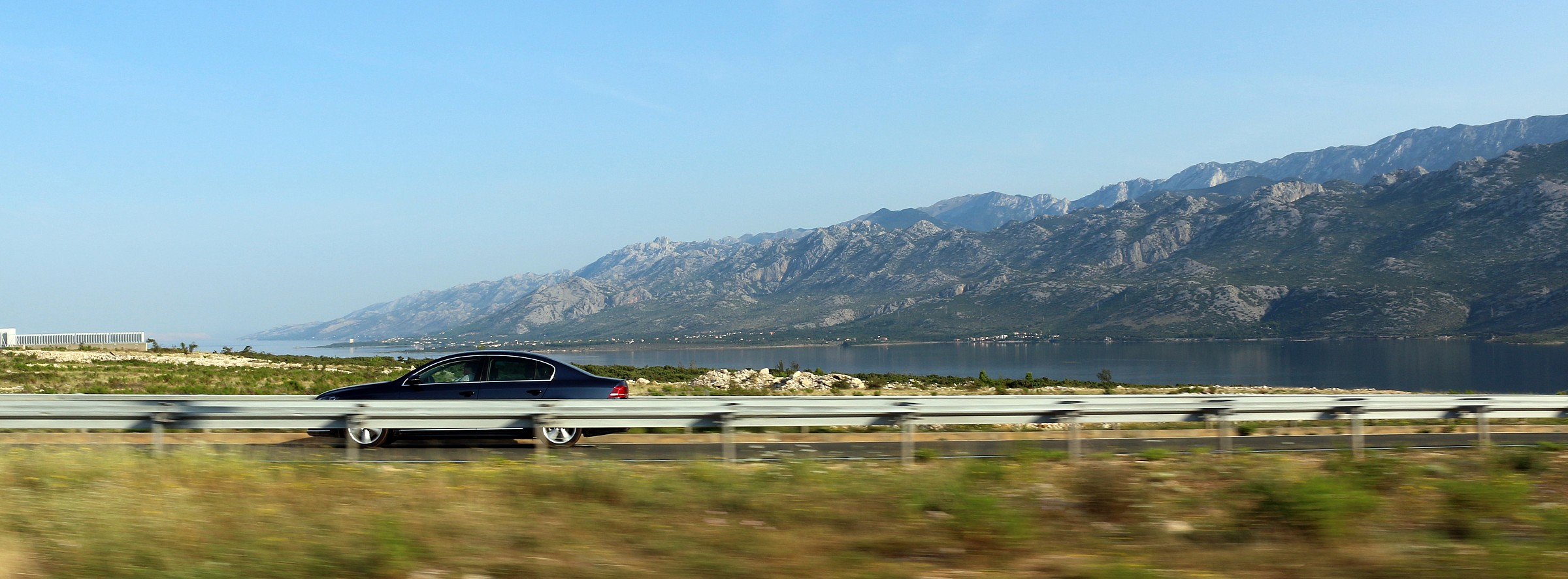 The hills of Zadar...