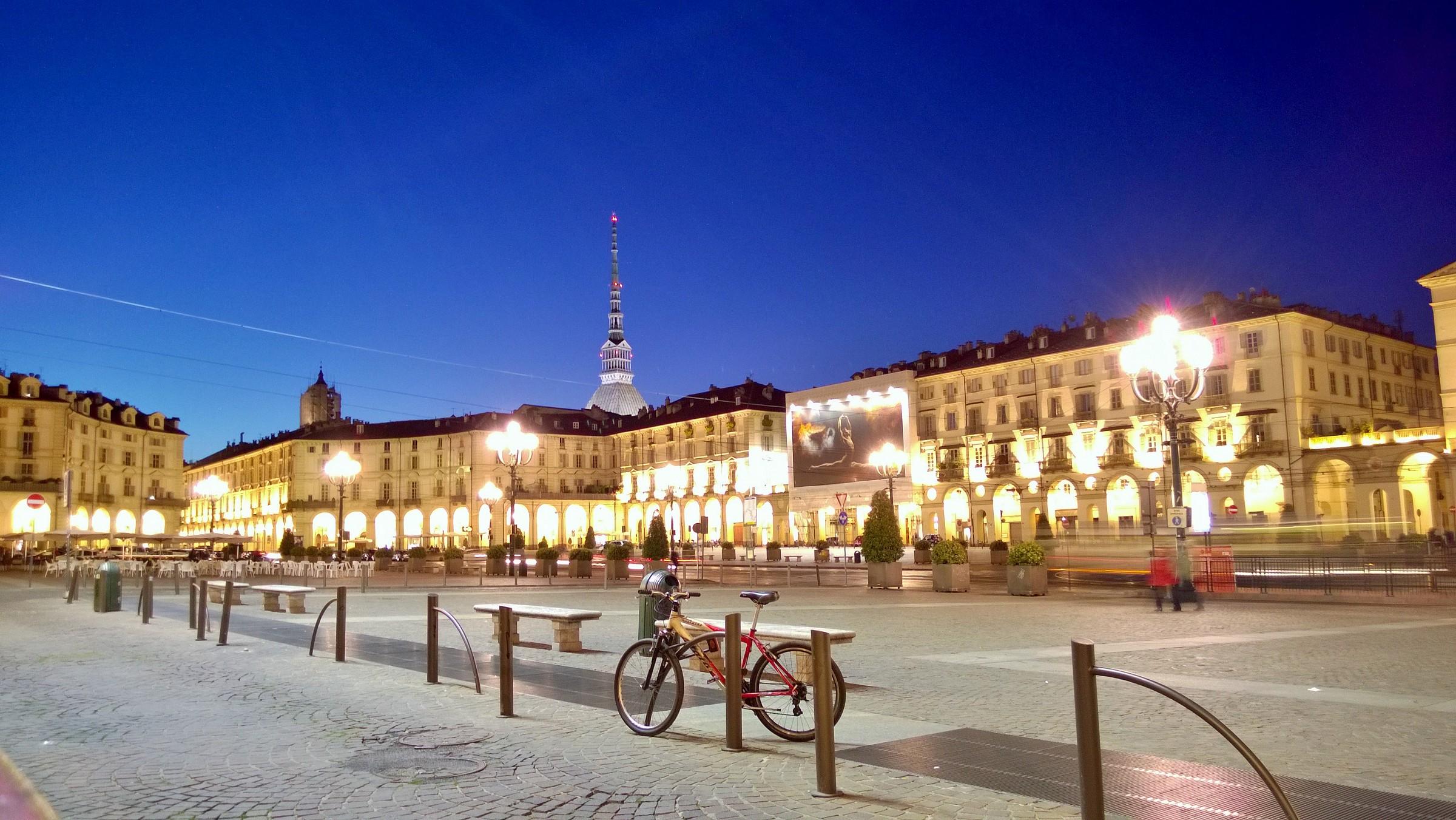 Piazza Vittorio Veneto...