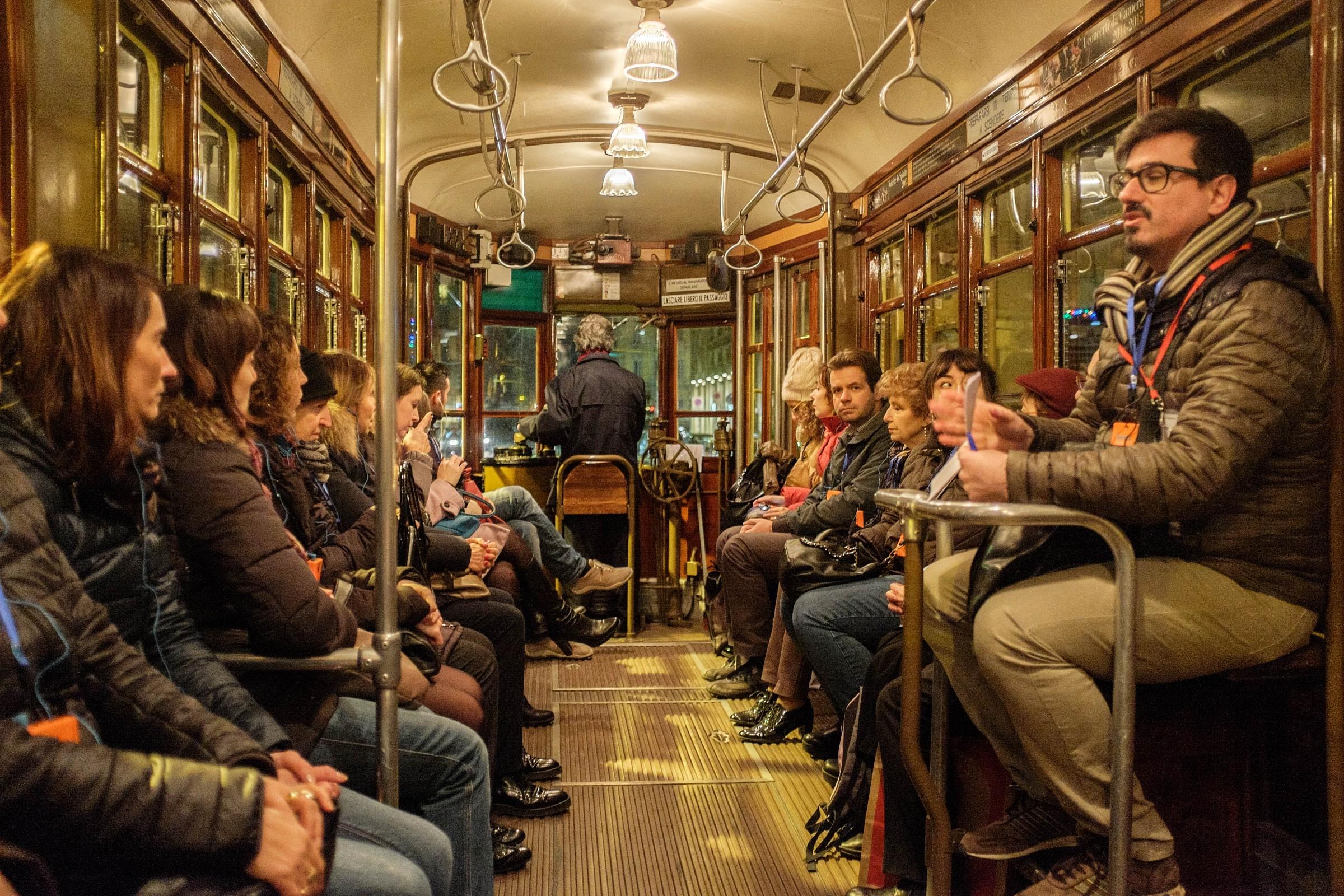 Historic Streetcar internal...