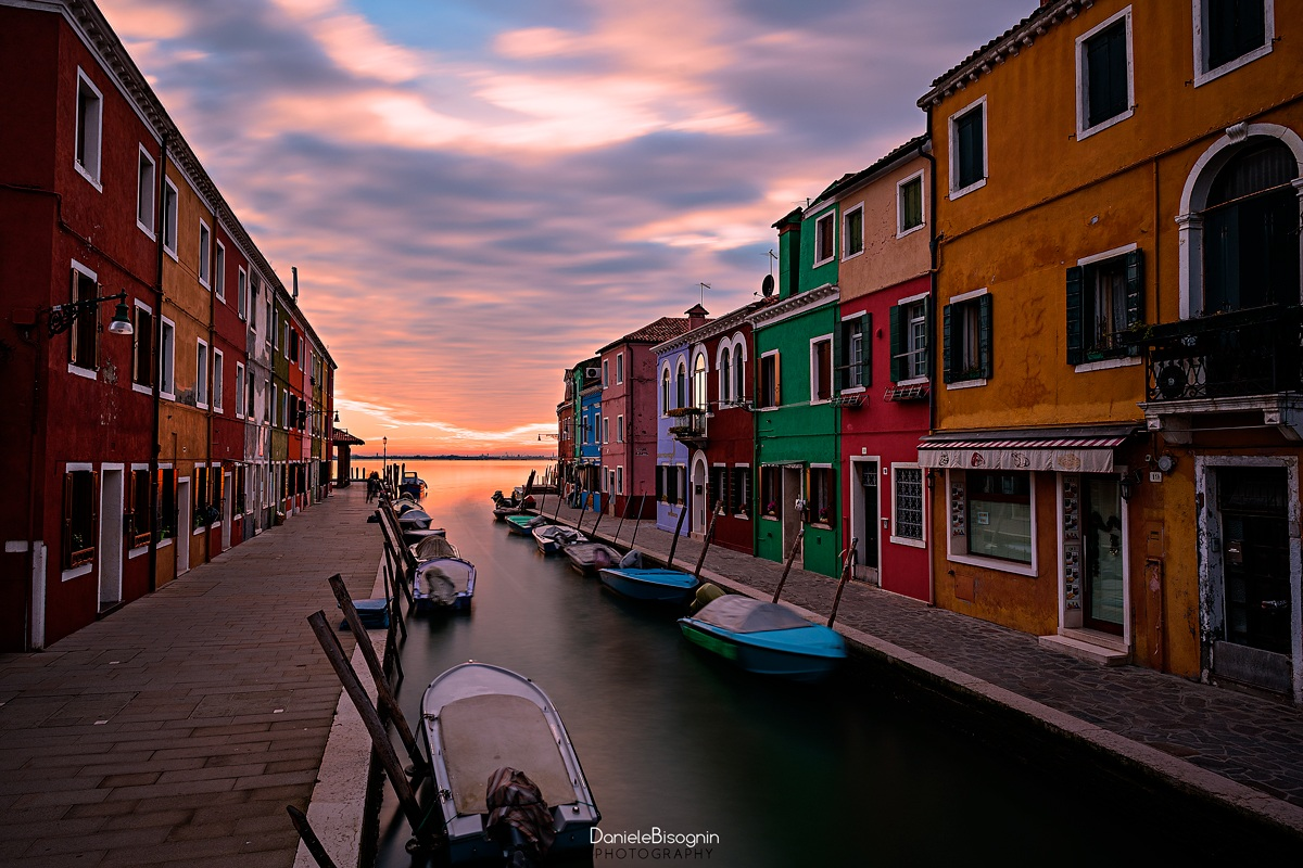Colors of Burano...