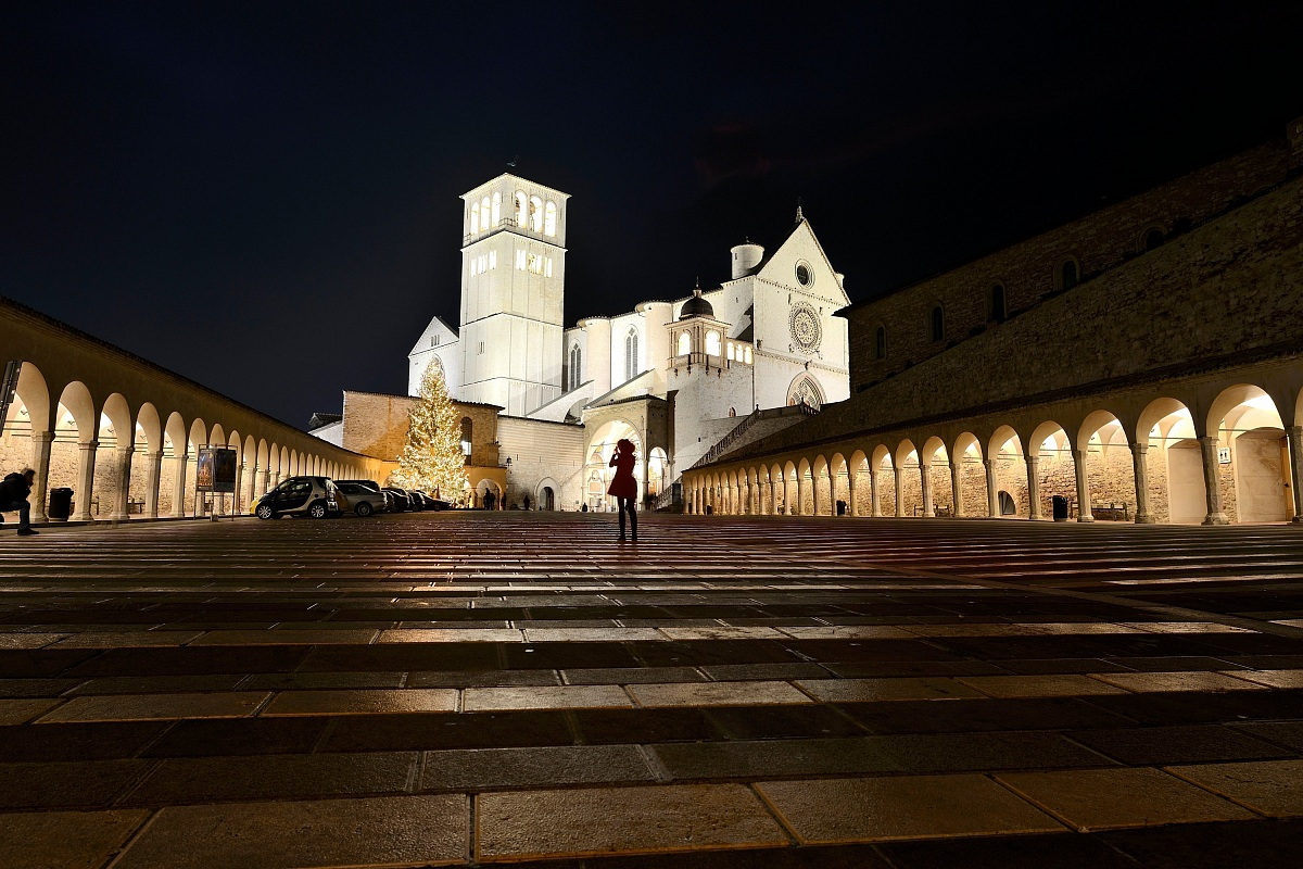 Assisi, Christmas Eve...