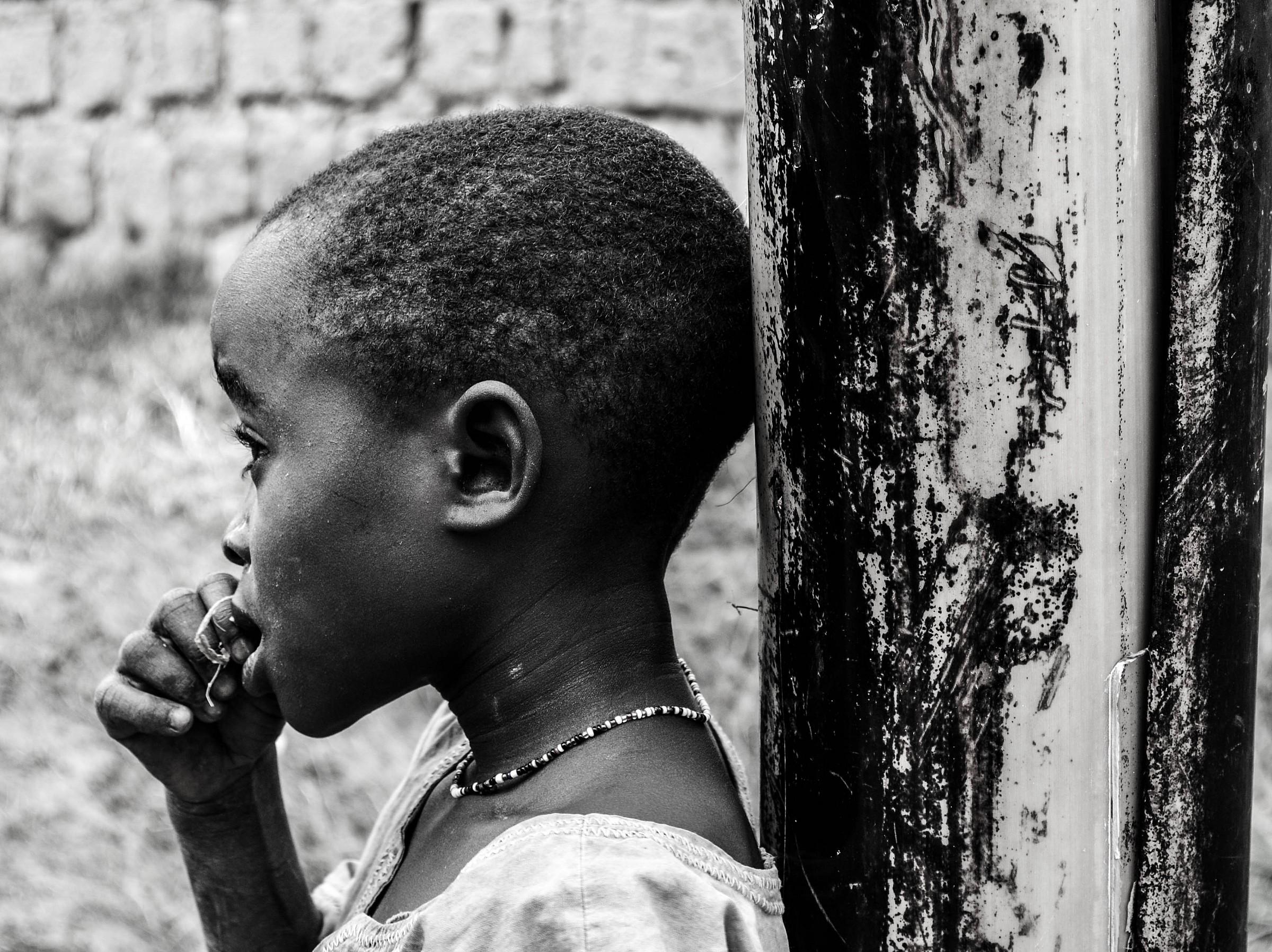 Ragazza rwandese...