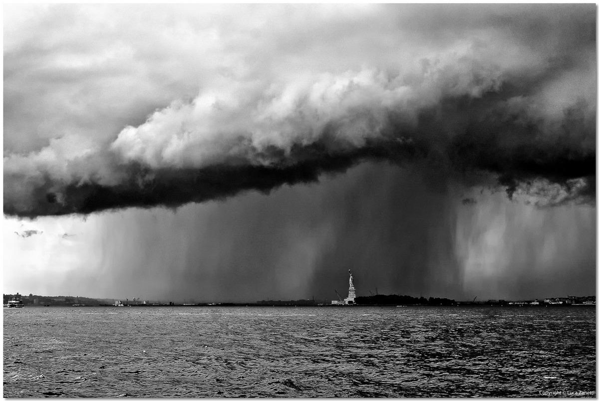 Rain On Liberty...