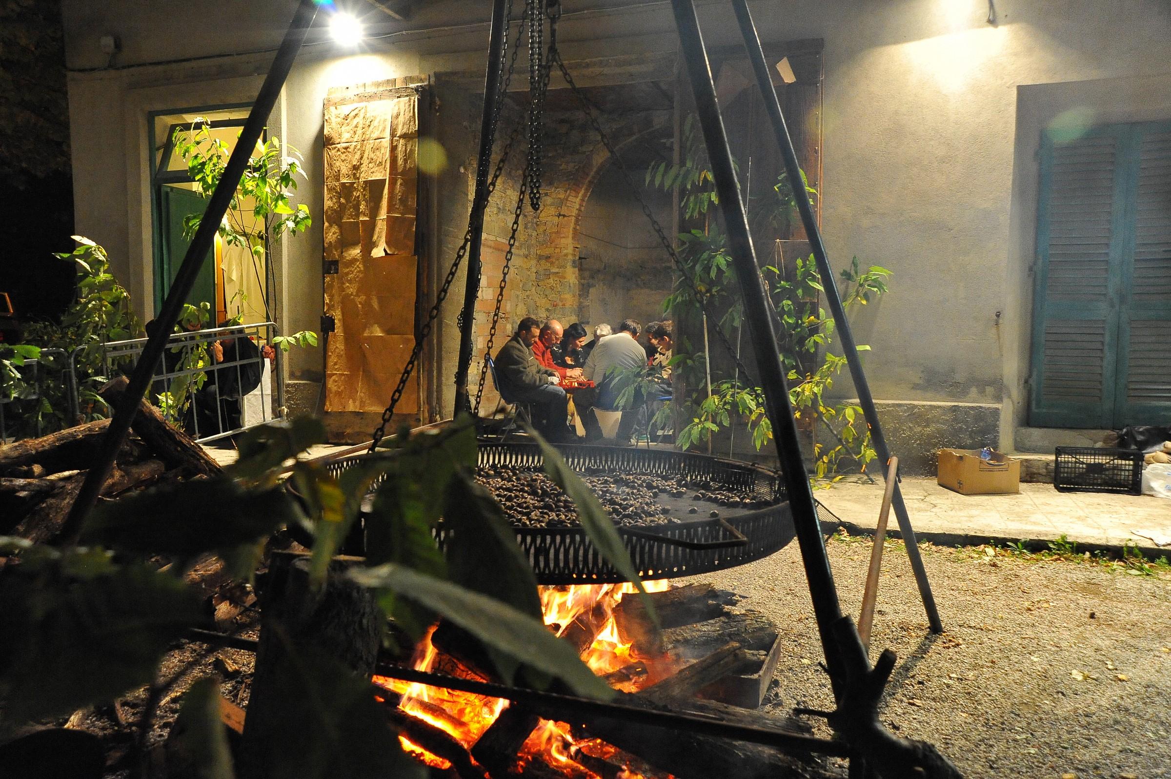 Castagnalandia cottura e castrazione...