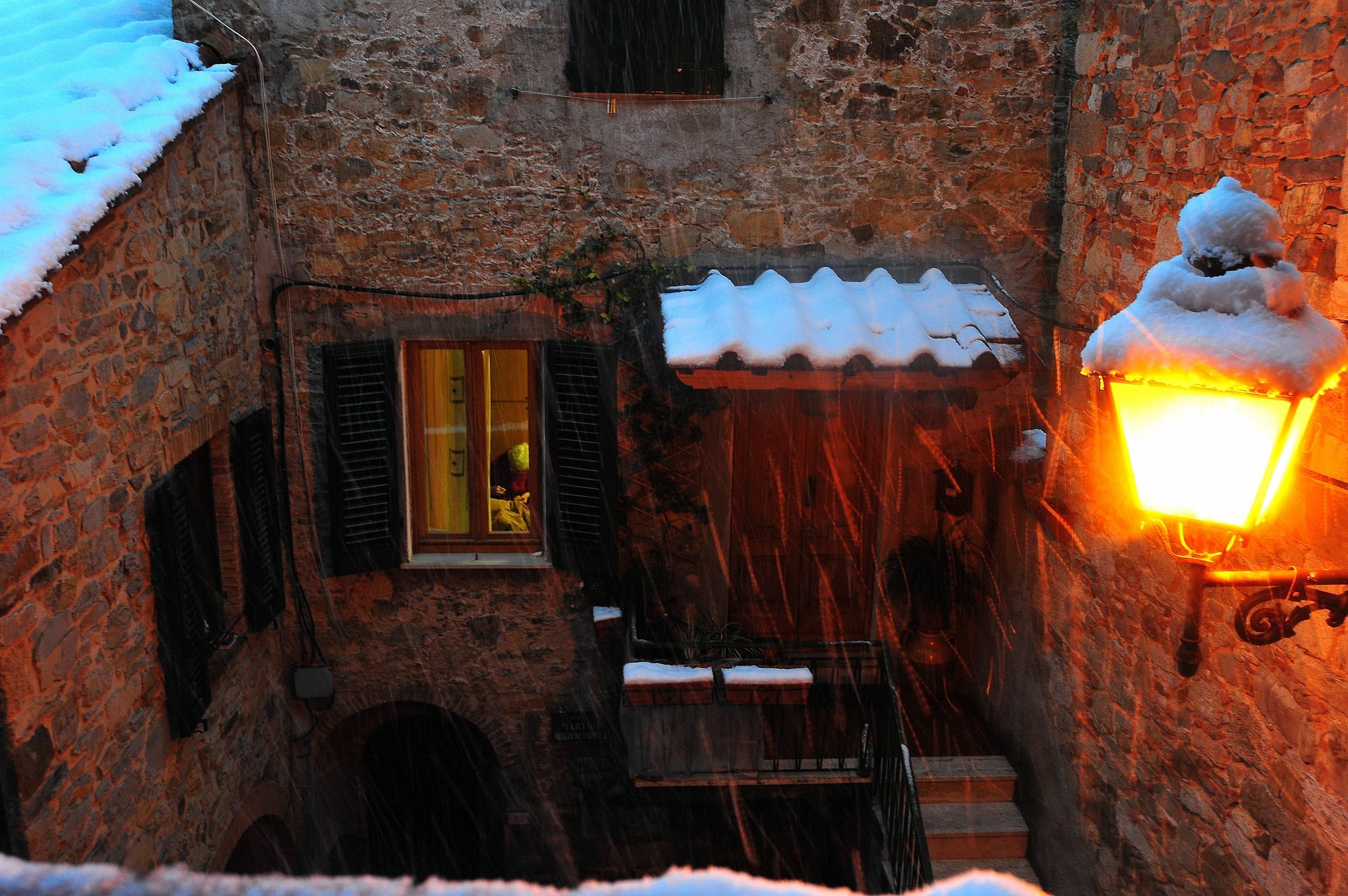 Neve a Castelnuovo...