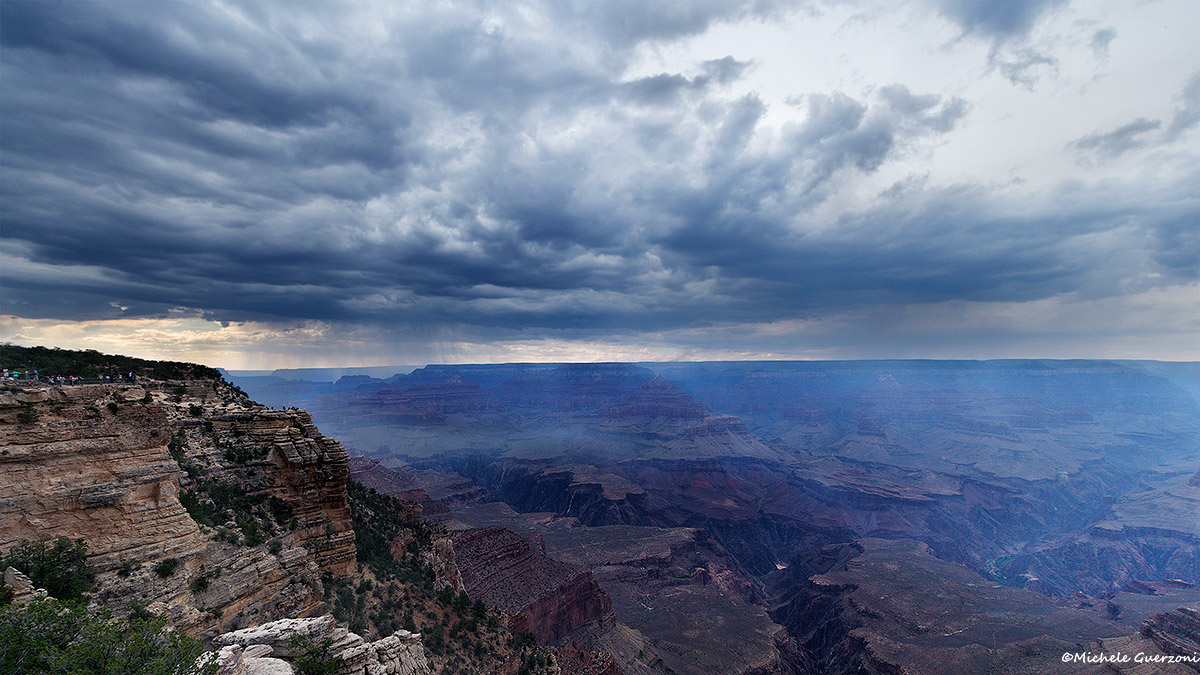 Storm over Grand Canyon...