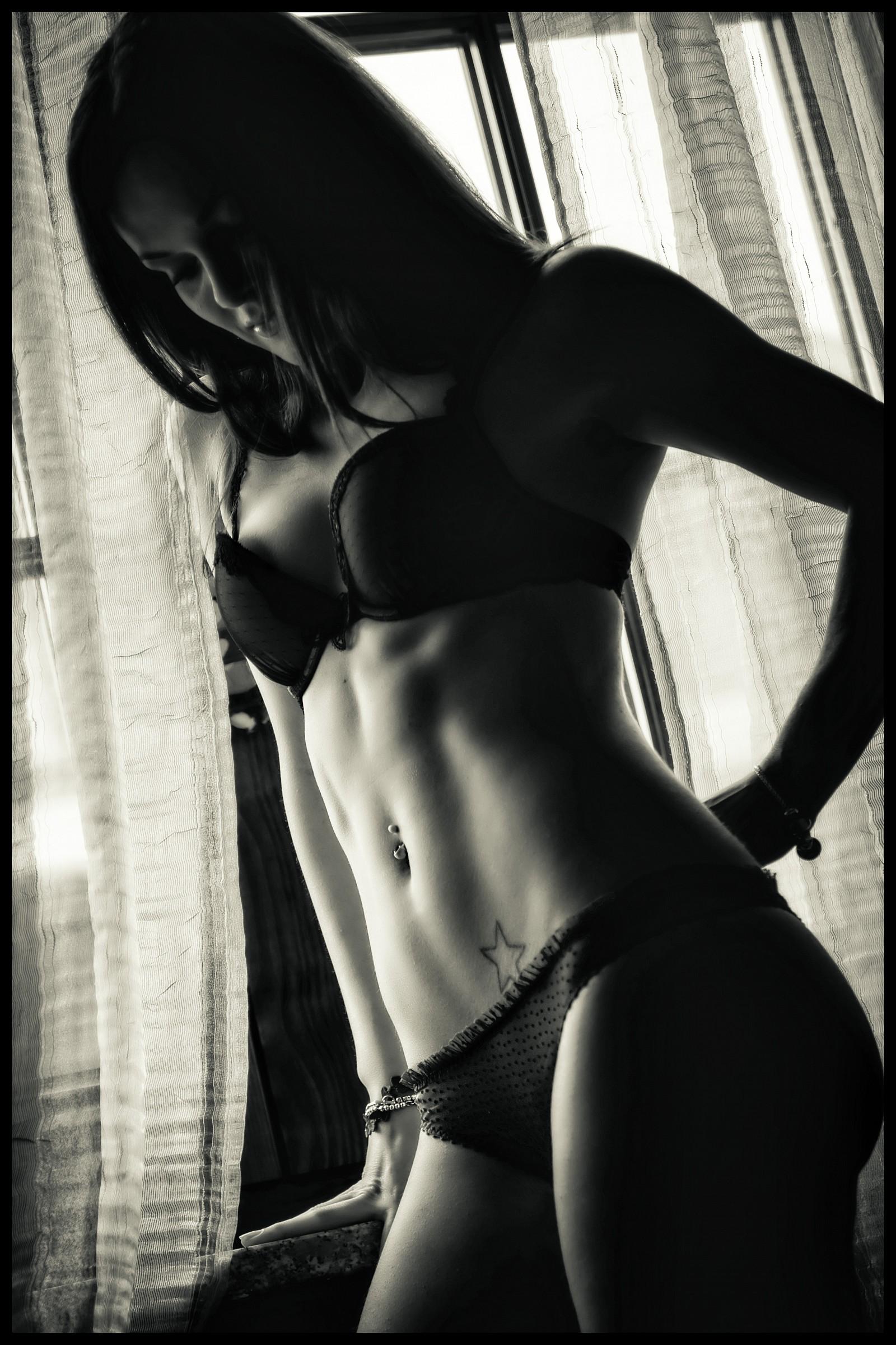Body 2 B&W...