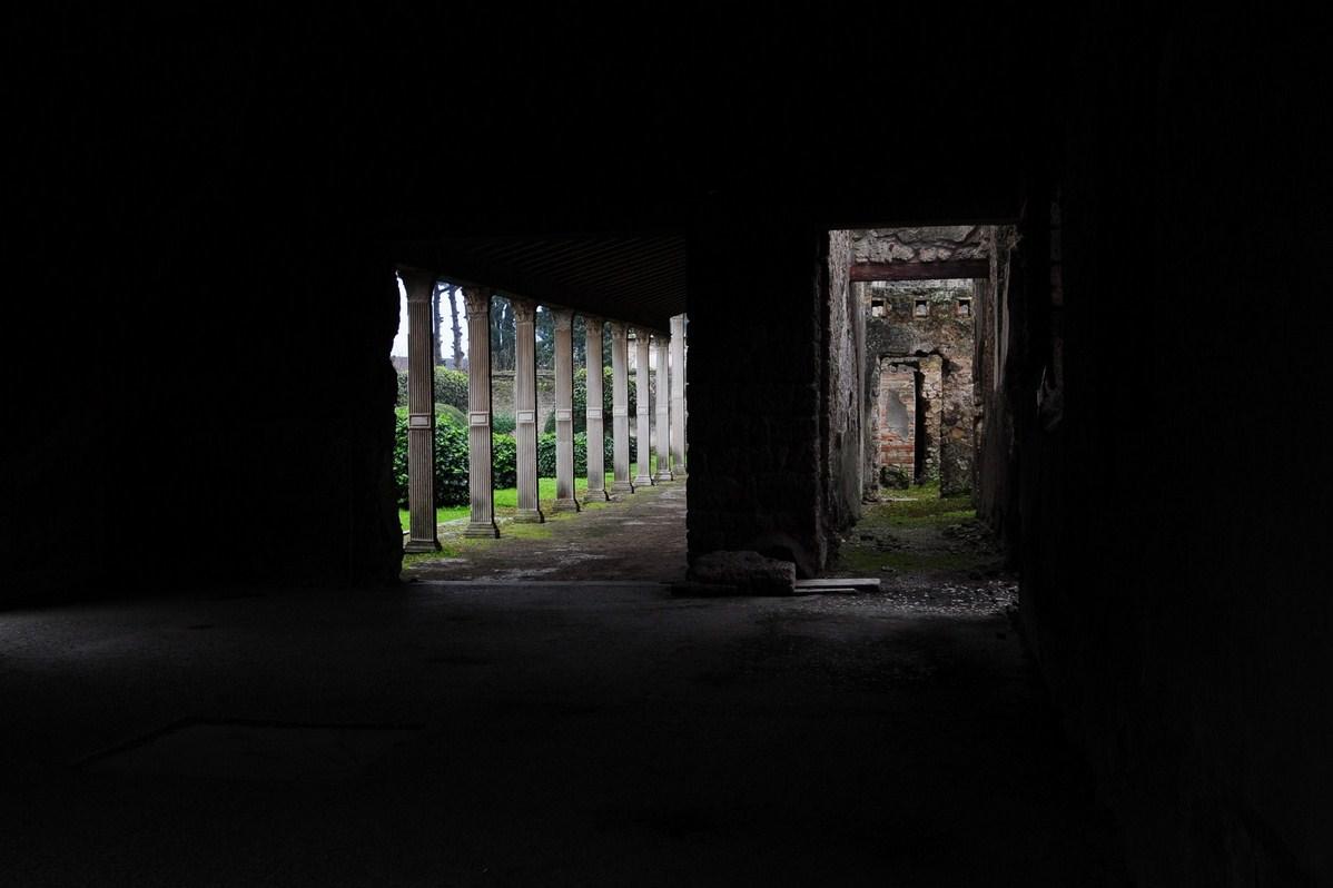 Pompei: mondo interno e mondo esterno...