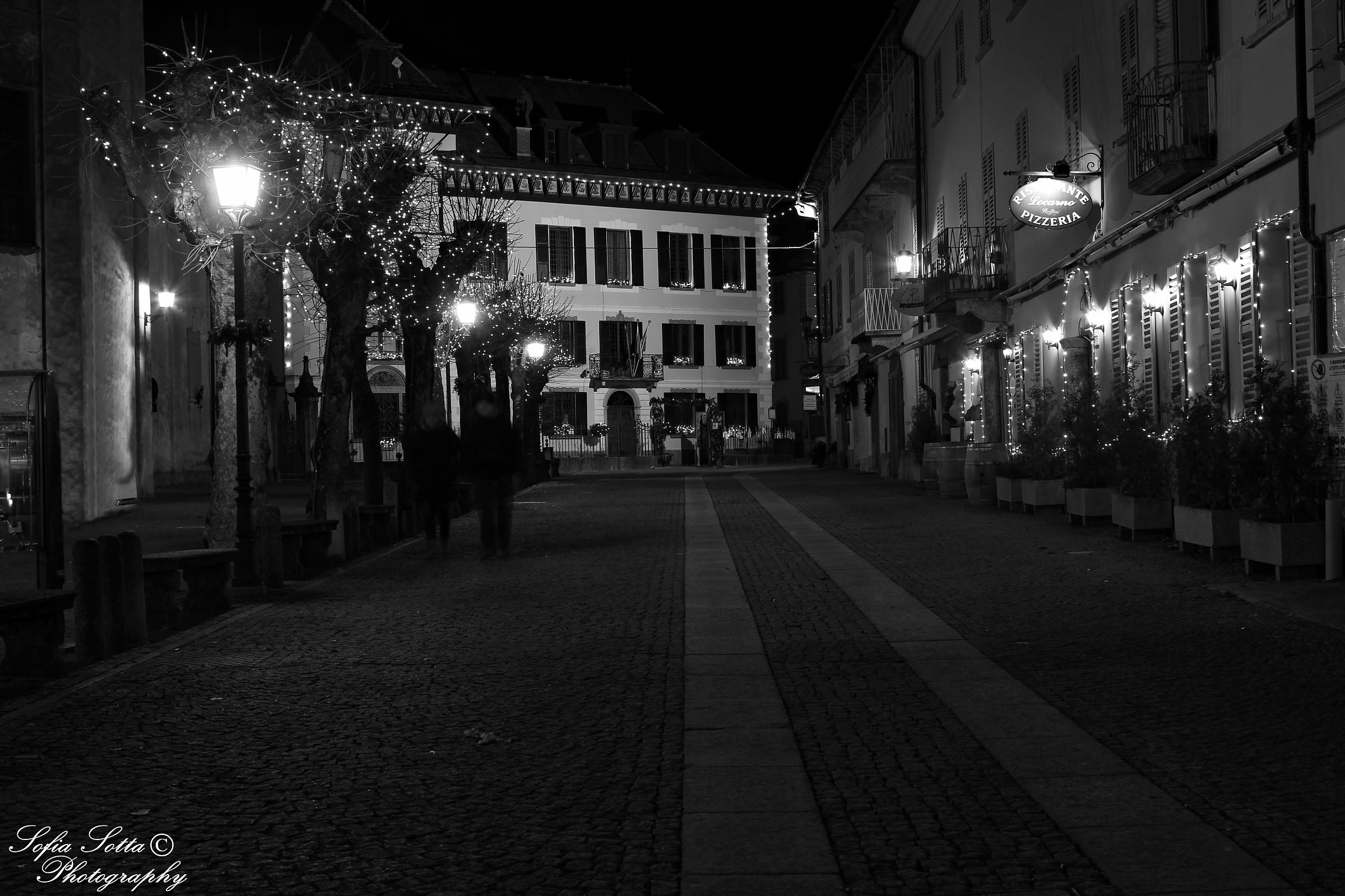 Santa Maria Maggiore by night (Valle Vigezzo)...