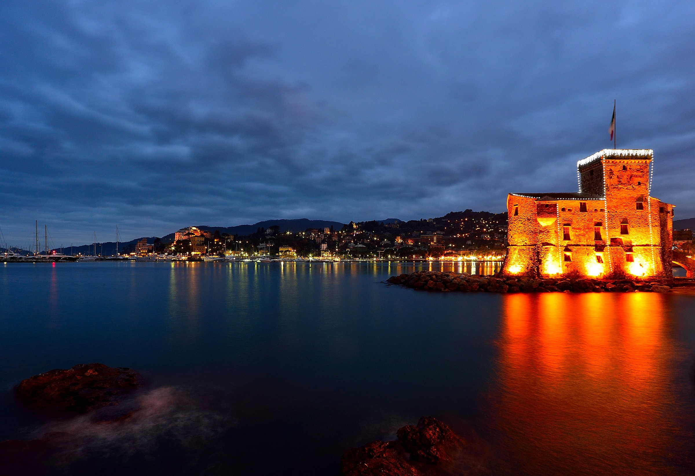 Rapallo in party...