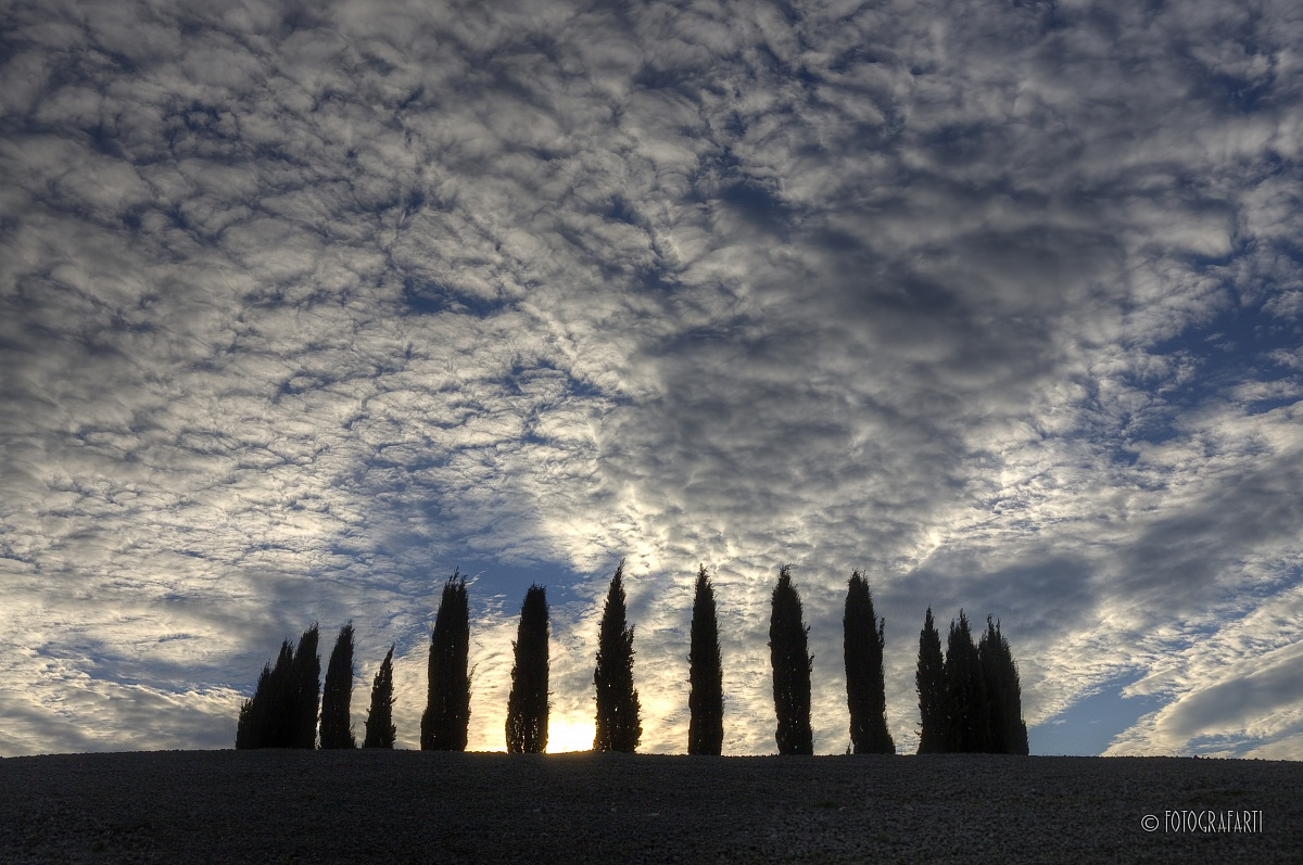 Val d'Orcia o Stonehange?...