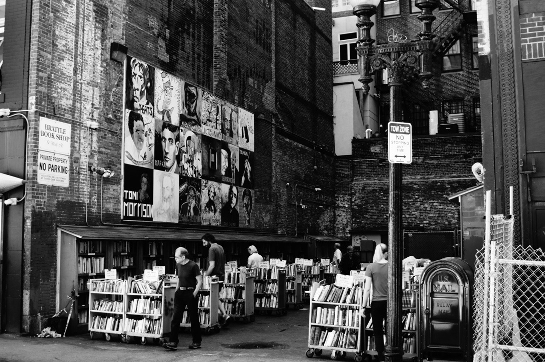 Brattle Book Shop...