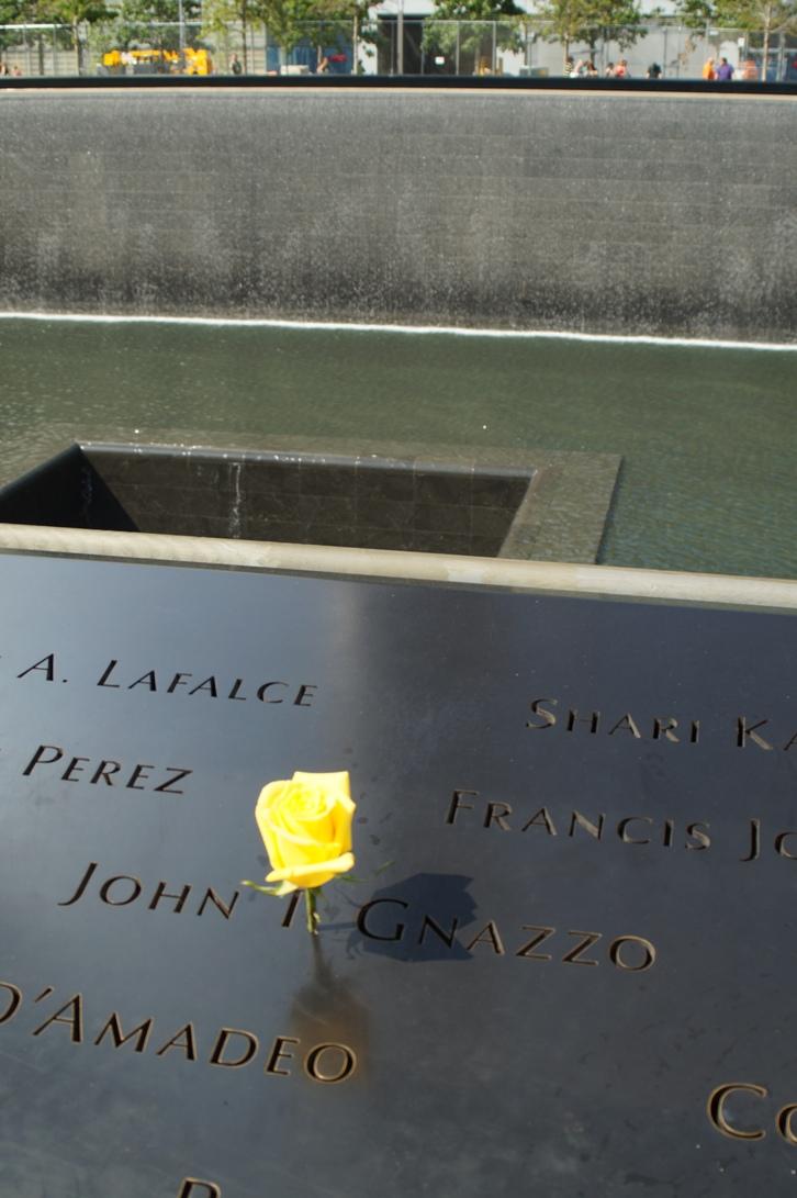 Twin Towers Memorial...