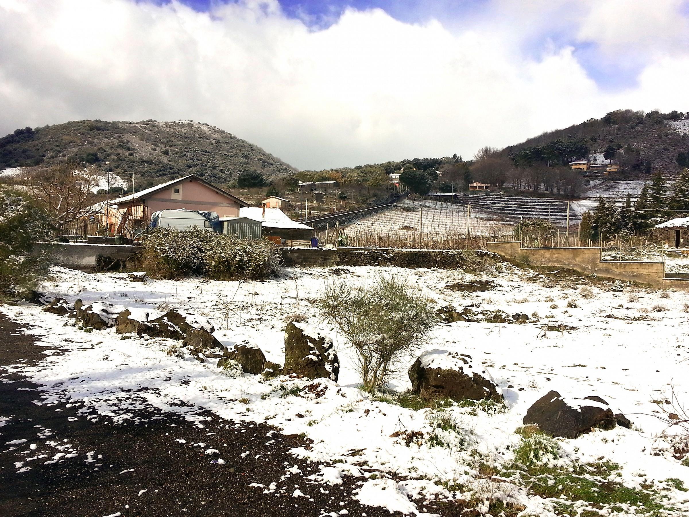 Neve a bassa quota - Tarderia,CT...