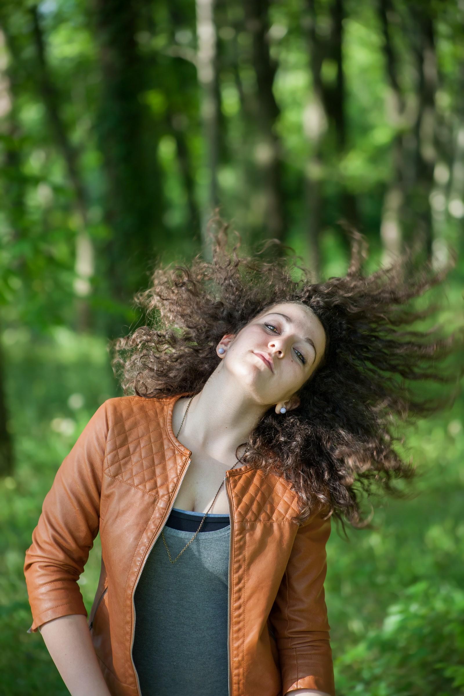 capelli al vento | JuzaPhoto