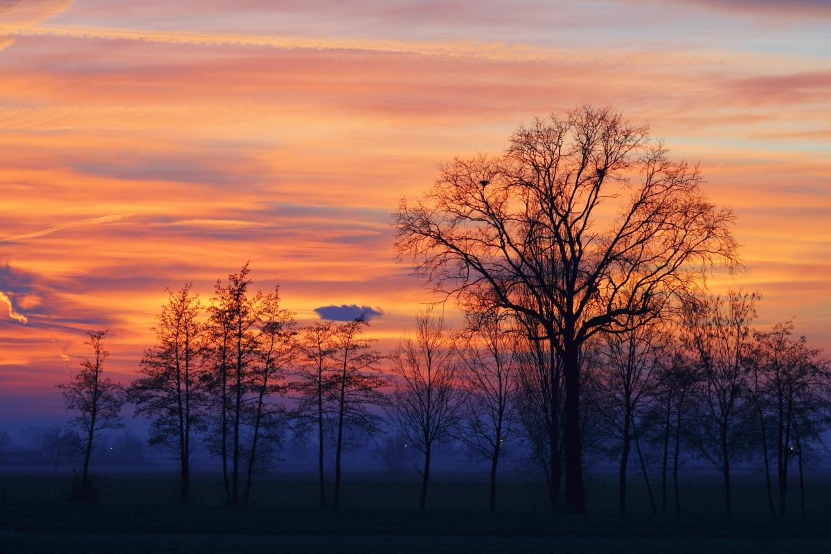 D'inverno, dopo il tramonto....