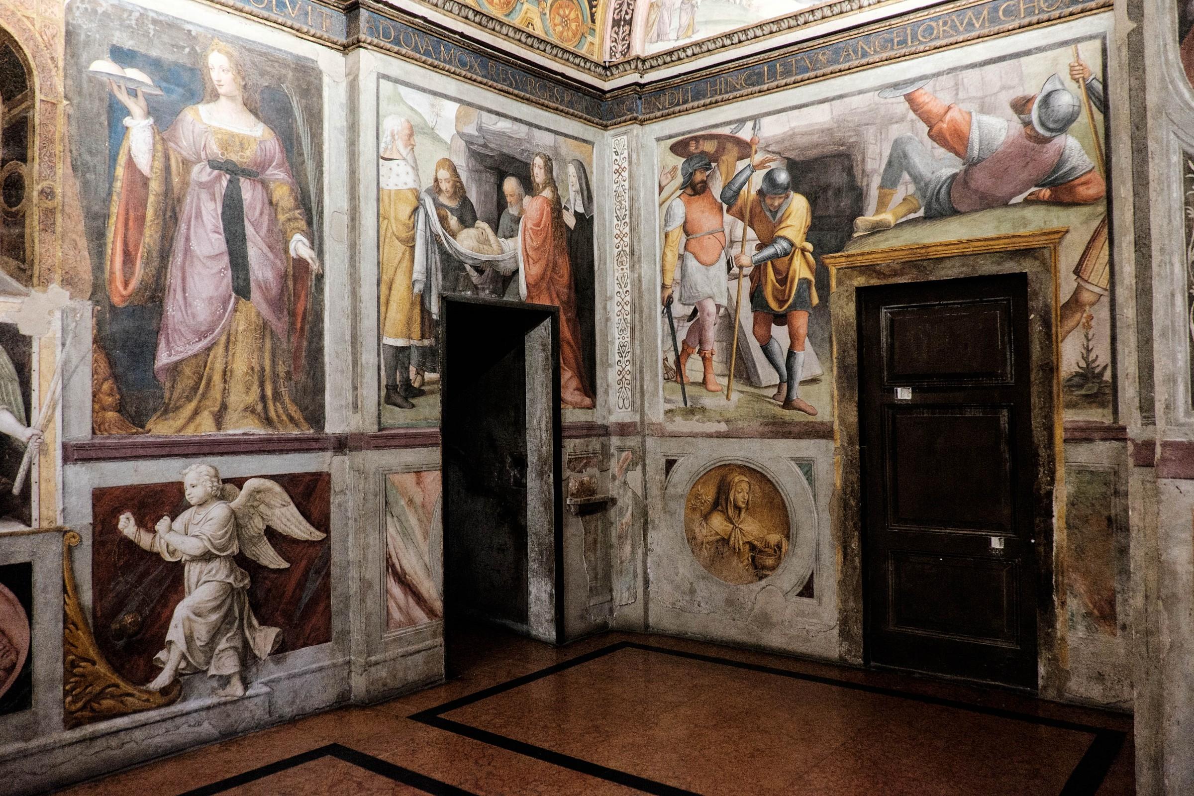 Doors and frescoes...