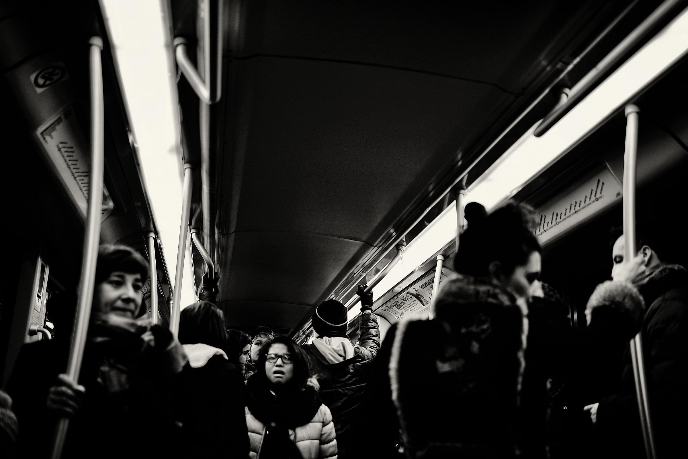 Despair subway...