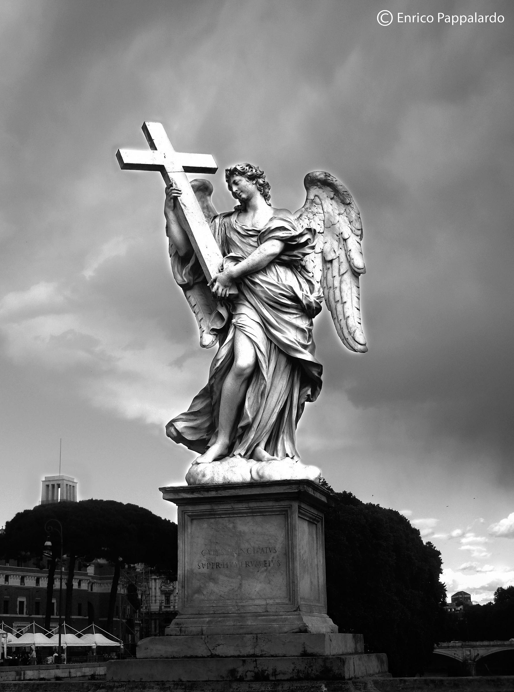 Angel with Cross...