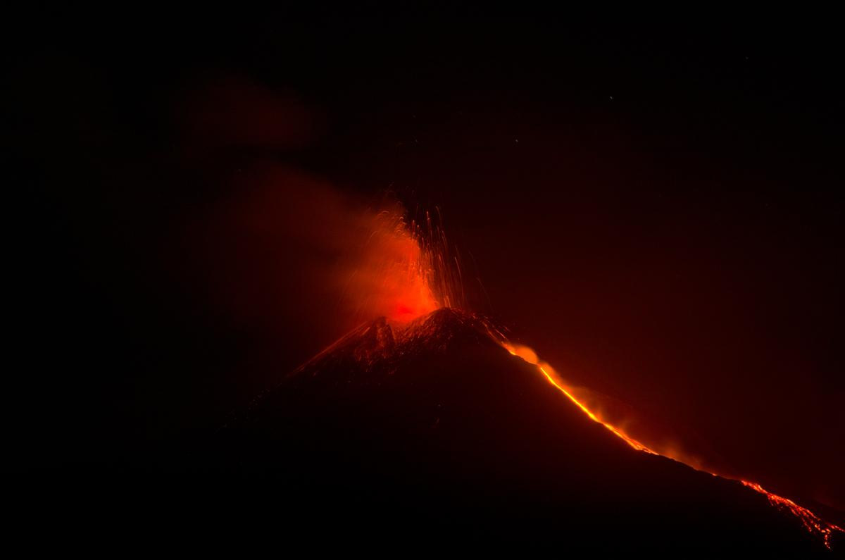 Eruption - August 11, 2014...